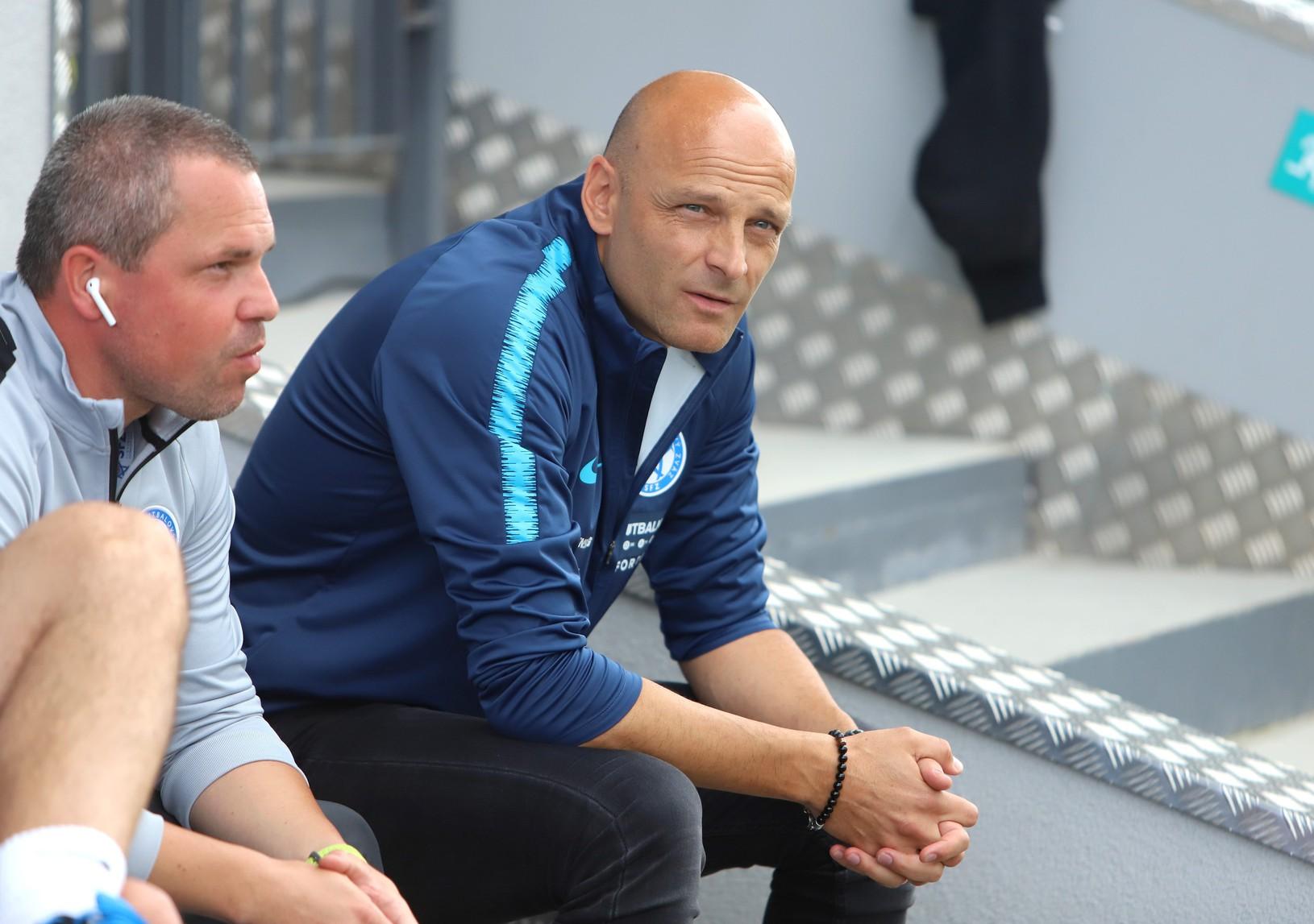 Tréner Adrián Guľa