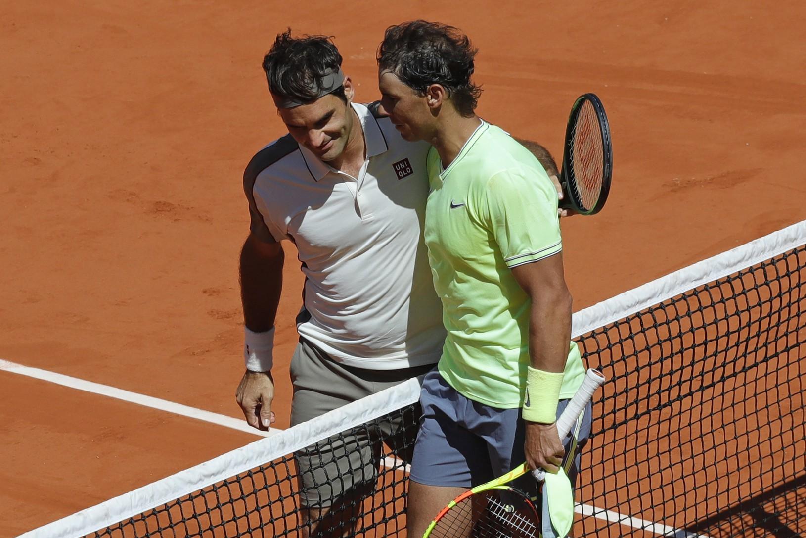 Roger Federer gratuluje k