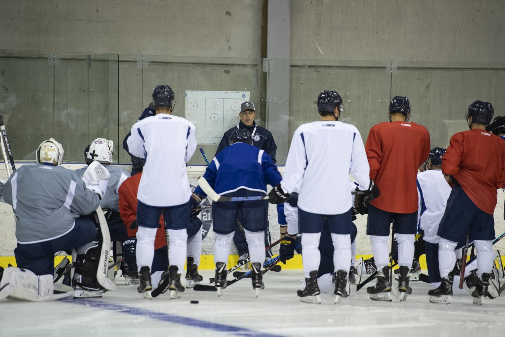 Hokejisti tímu HC Slovan