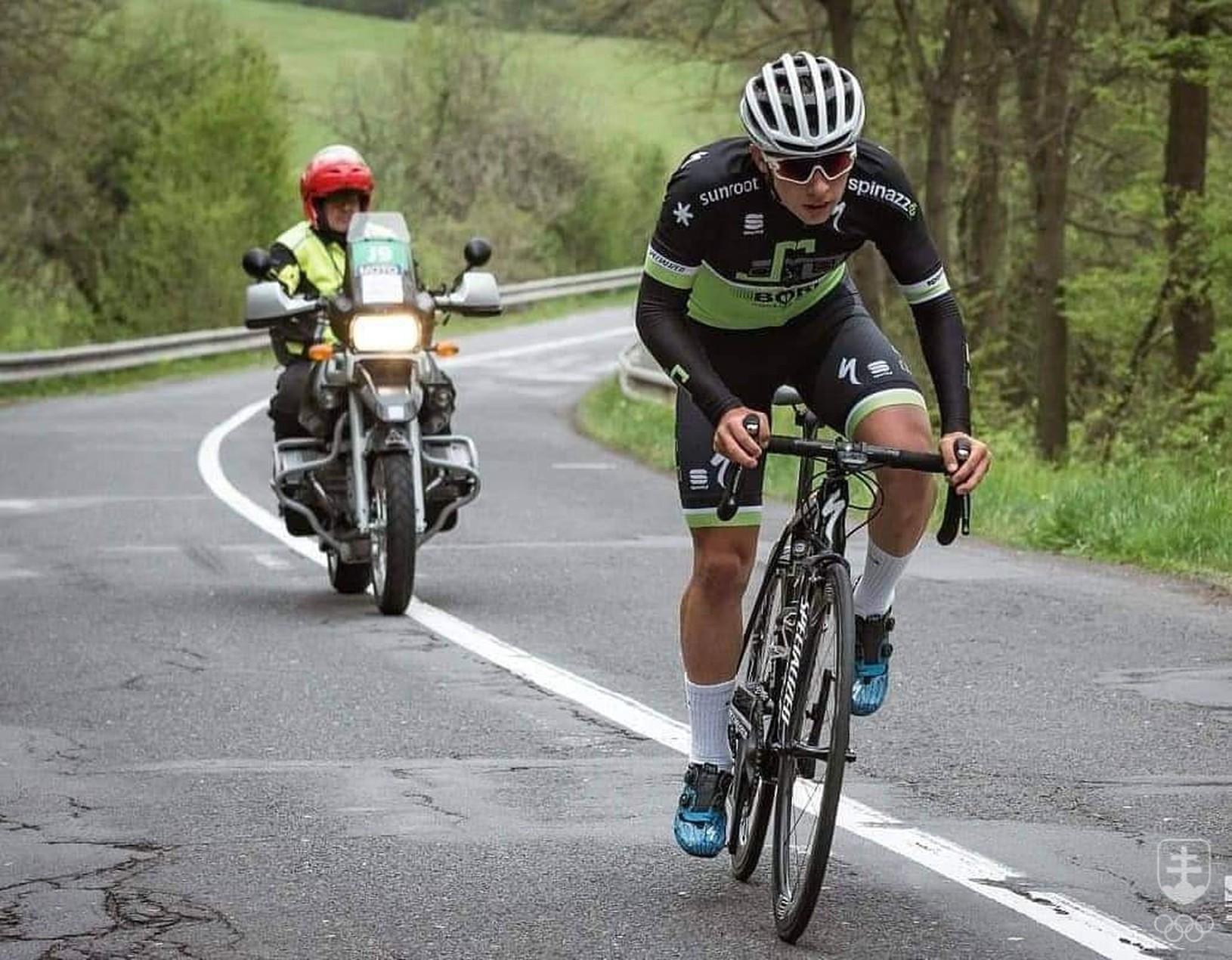 Cyklista Martin Svrček získal