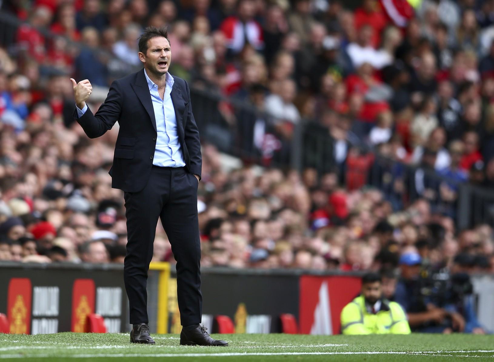Tréner Chelsea Frank Lampard
