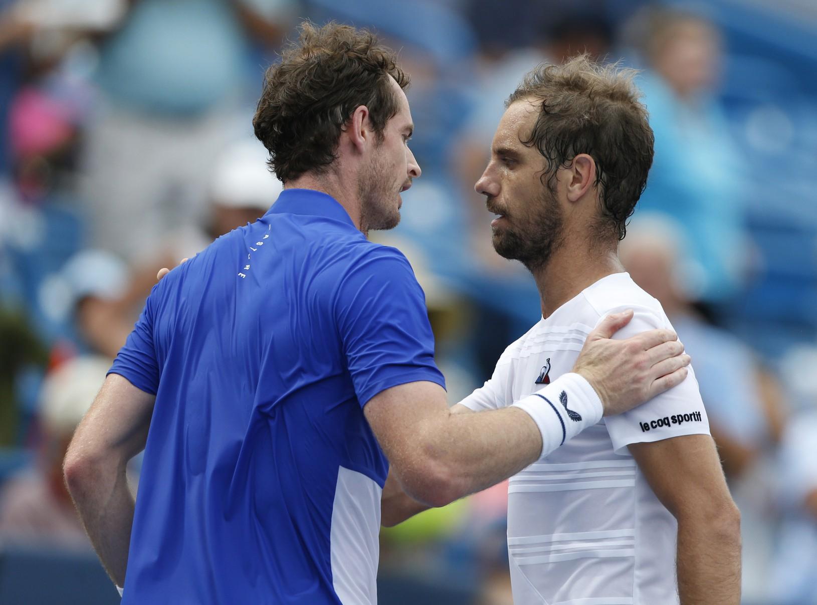 Andy Murray a Richard
