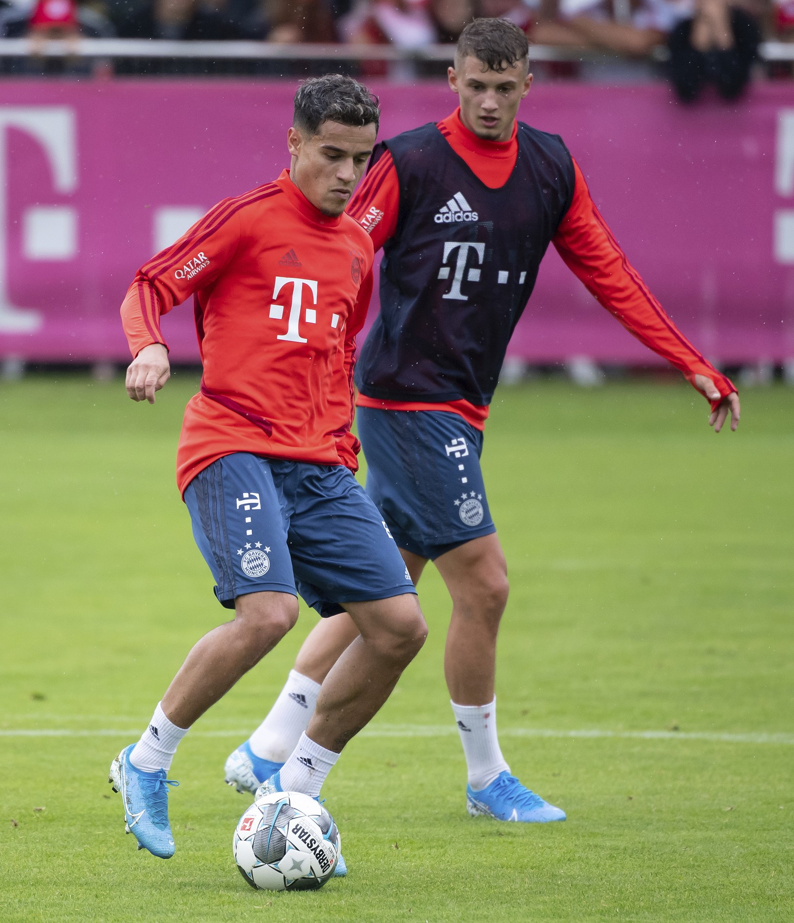 Philippe Coutinho počas tréningu