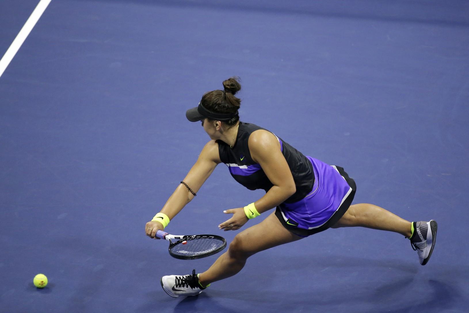 Bianca Andreescuová zdolala v