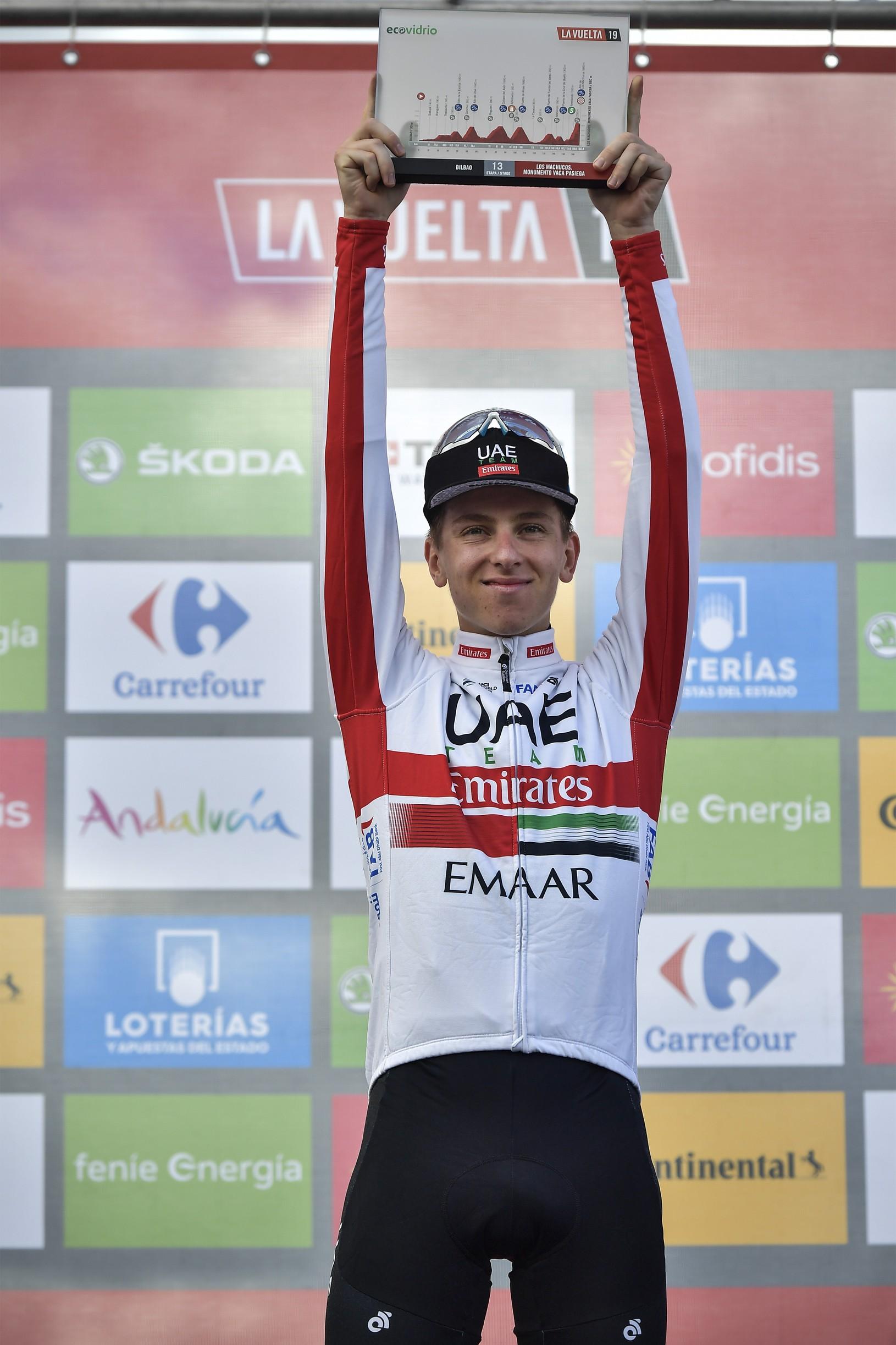 Slovinský cyklista Tadej Pogačar