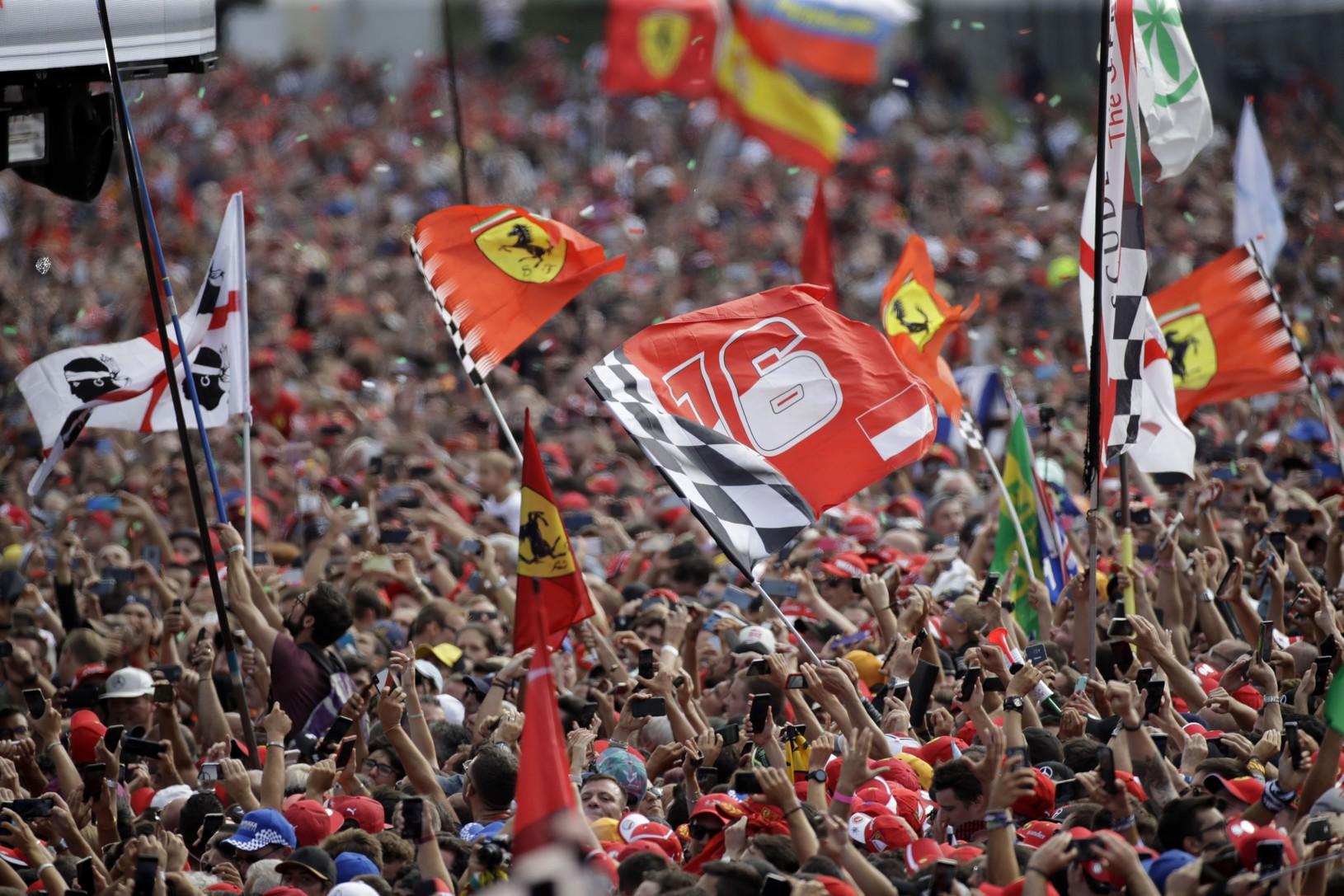 Radosť priaznivcov Ferrari