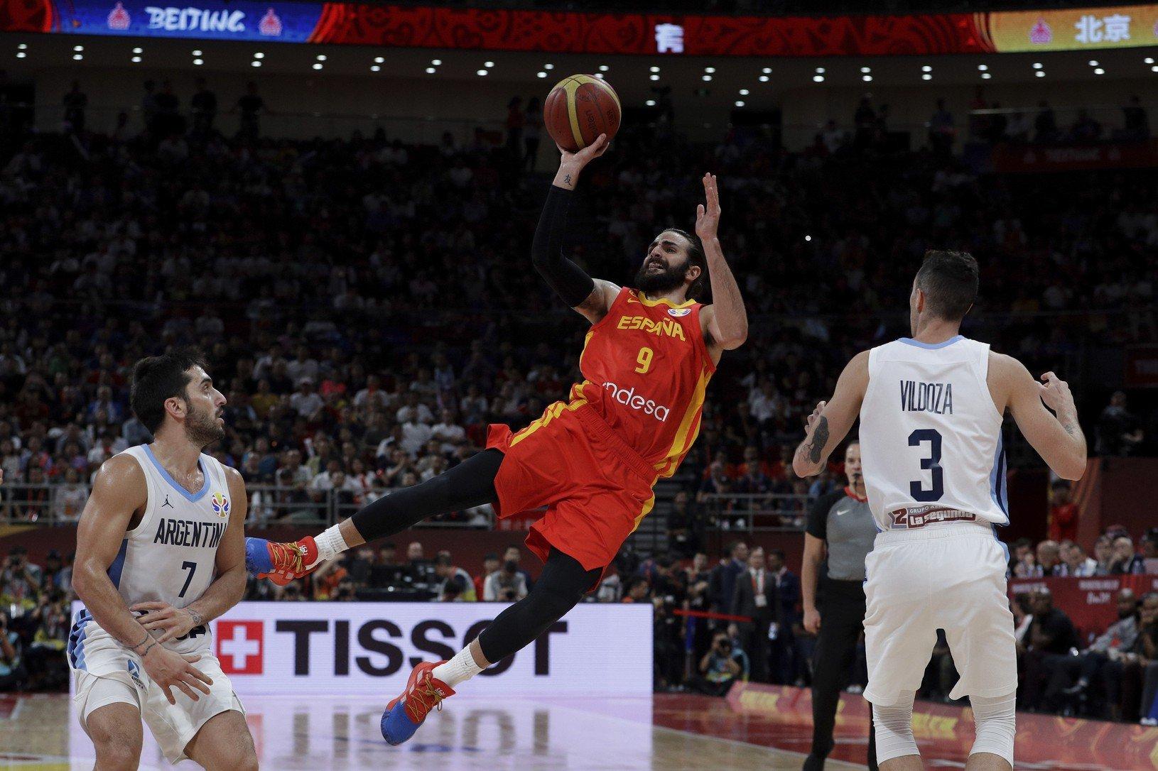 Španielsky basketbalista Ricky Rubio