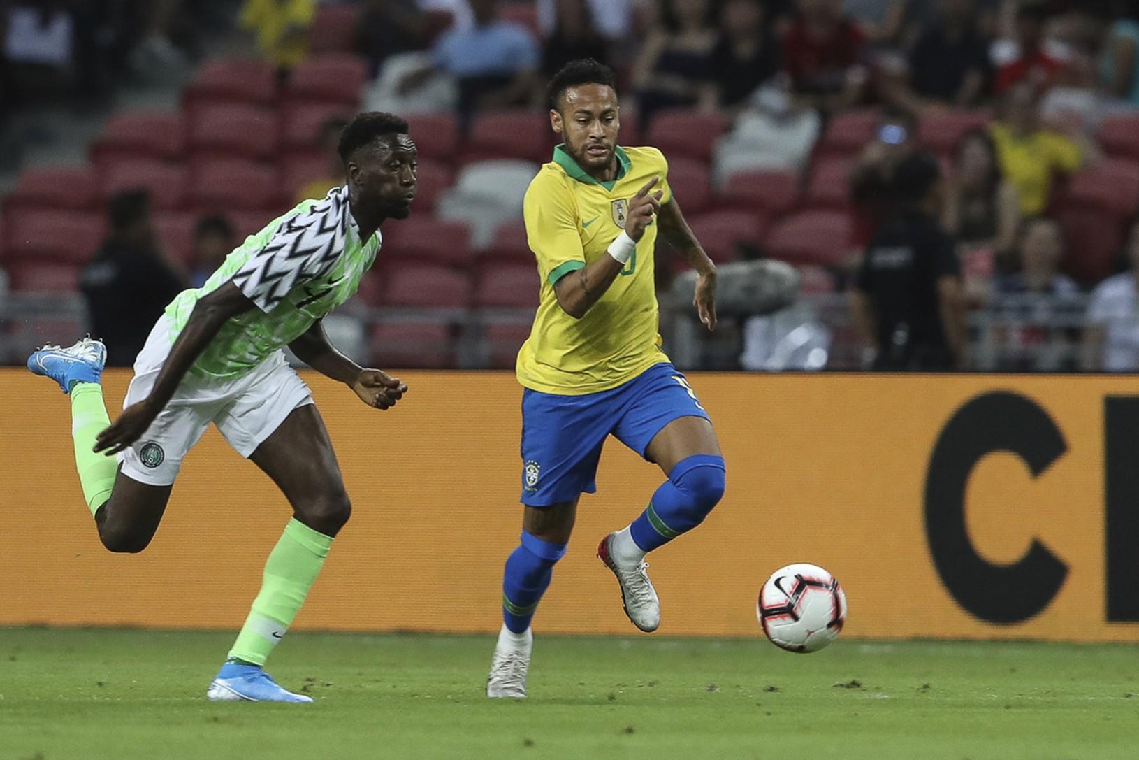 Neymar v zápase s