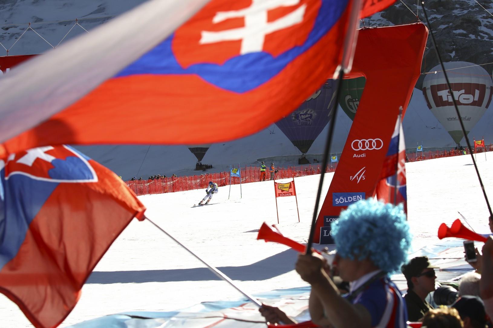Slovenskí priaznivci v Söldene