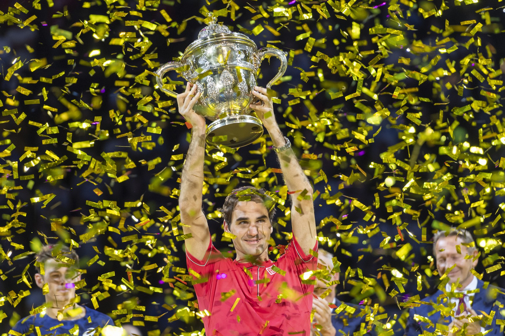 Federer získal v Bazileji
