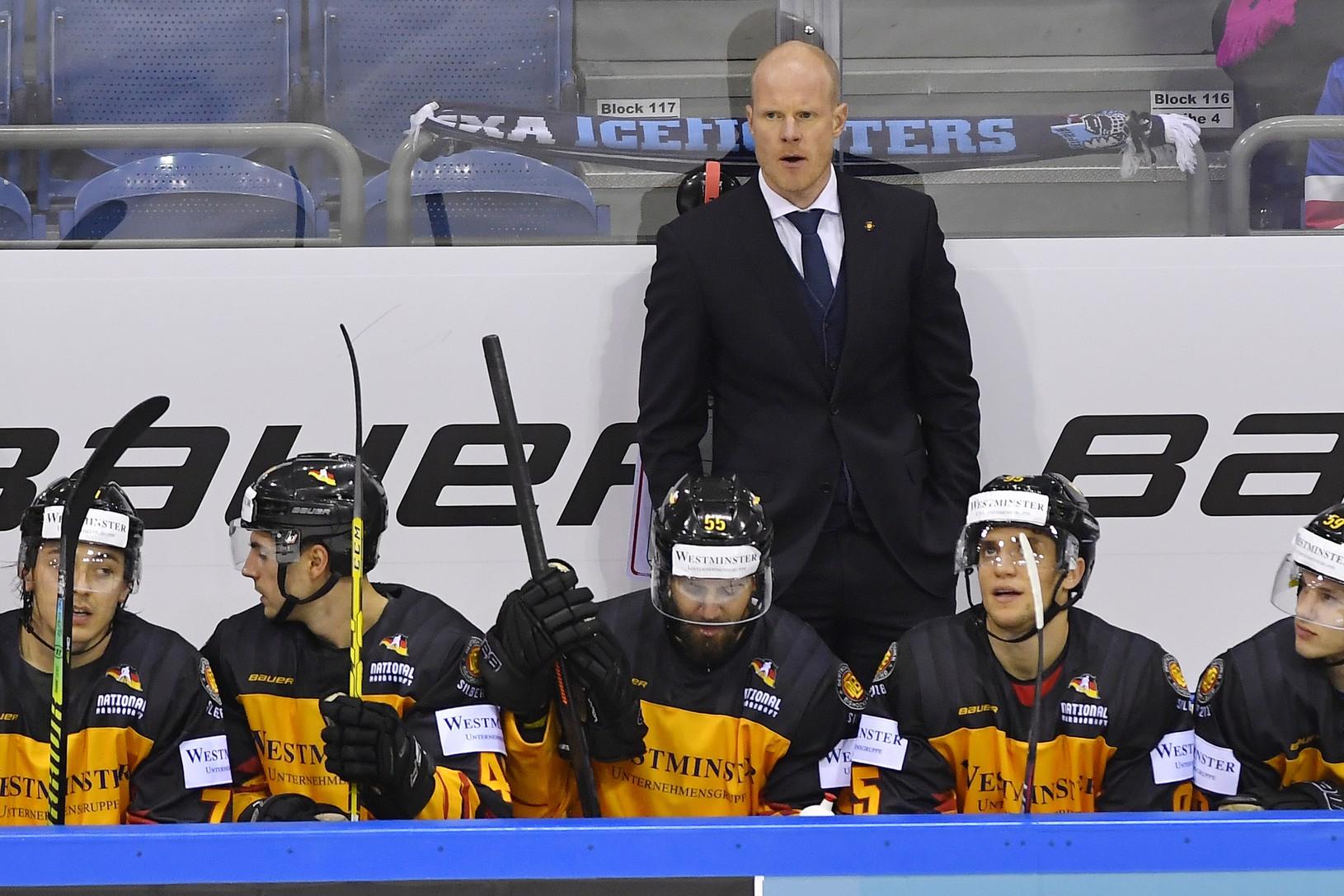 Tréner nemeckej hokejovej reprezentácie