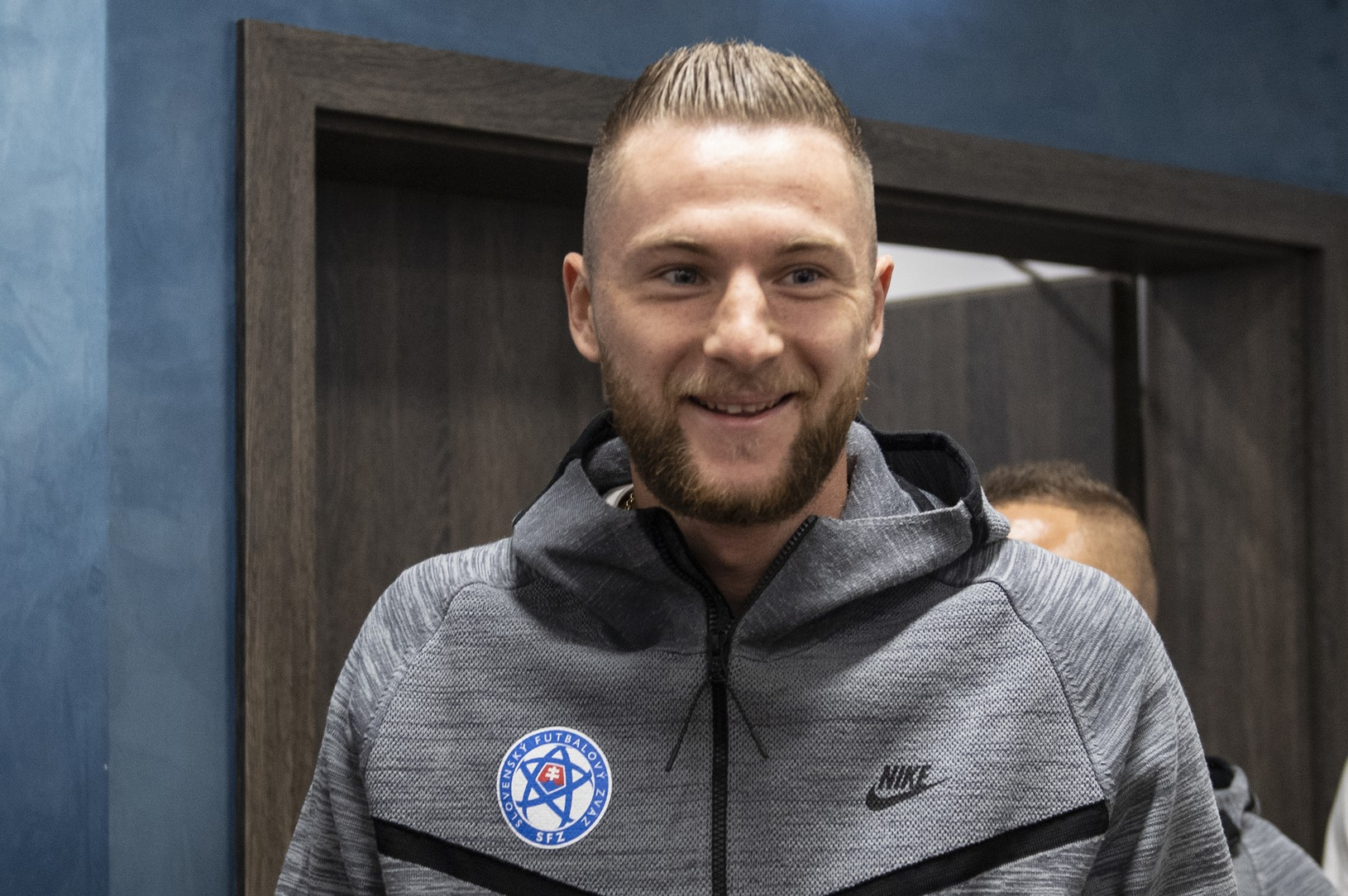 Milan Škriniar na reprezentačnom