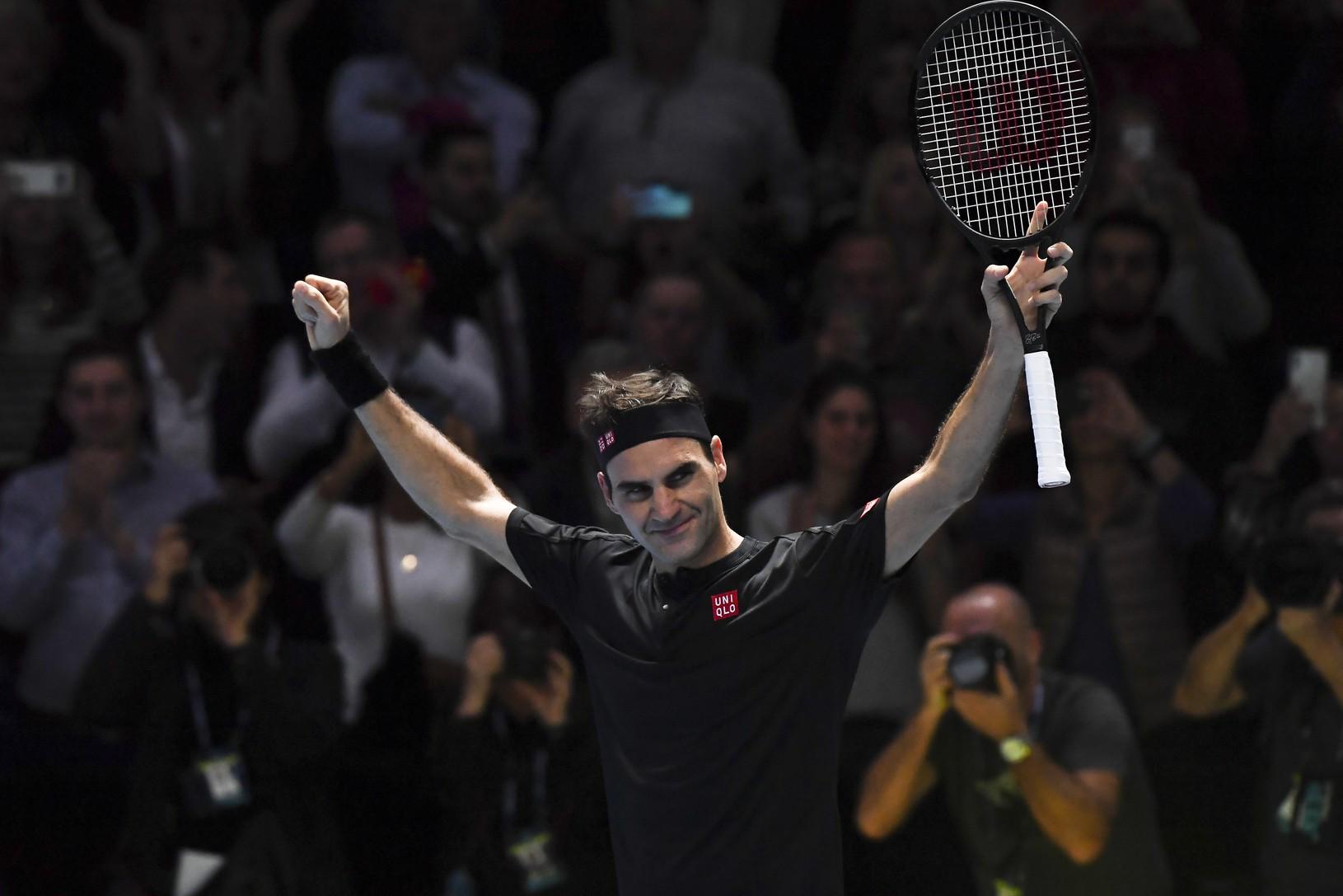 Roger Federer sa raduje
