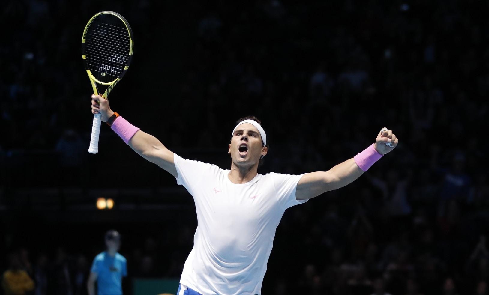 Rafael Nadal sa teší