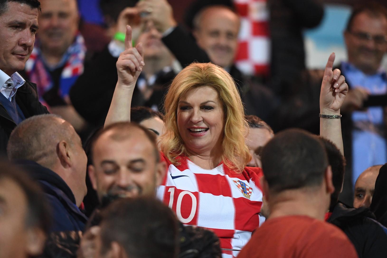 Chorvátska prezidentka Kolinda Grabarová