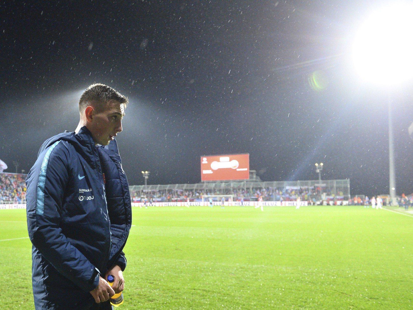 Slovenský futbalový reprezentant Róbert