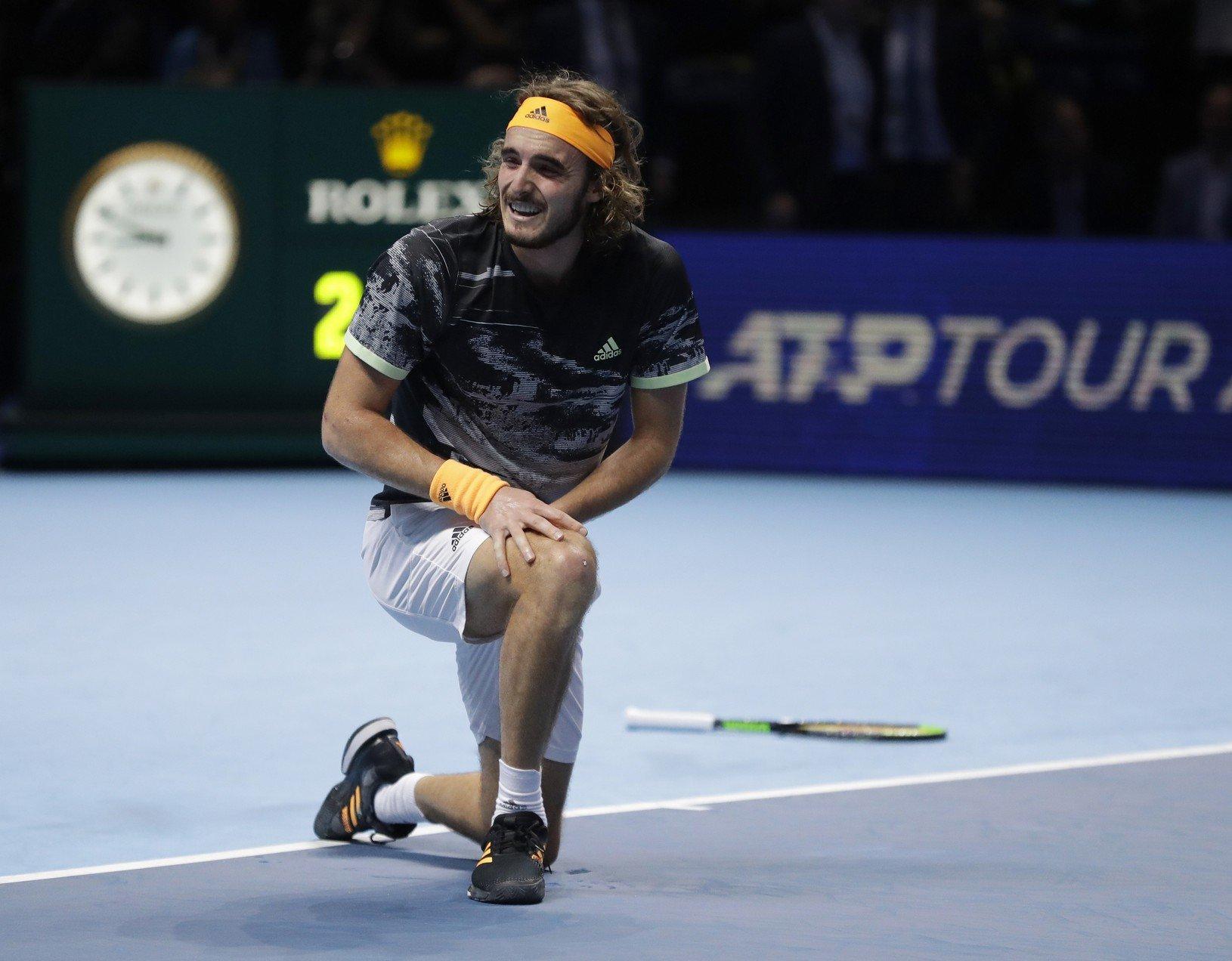 Grécky tenista Stefanos Tsitsipas