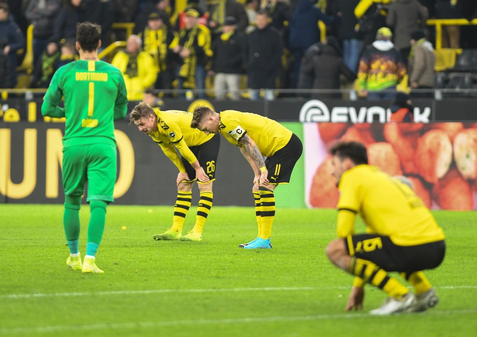 Borussia sklamala svojich fanúšikov
