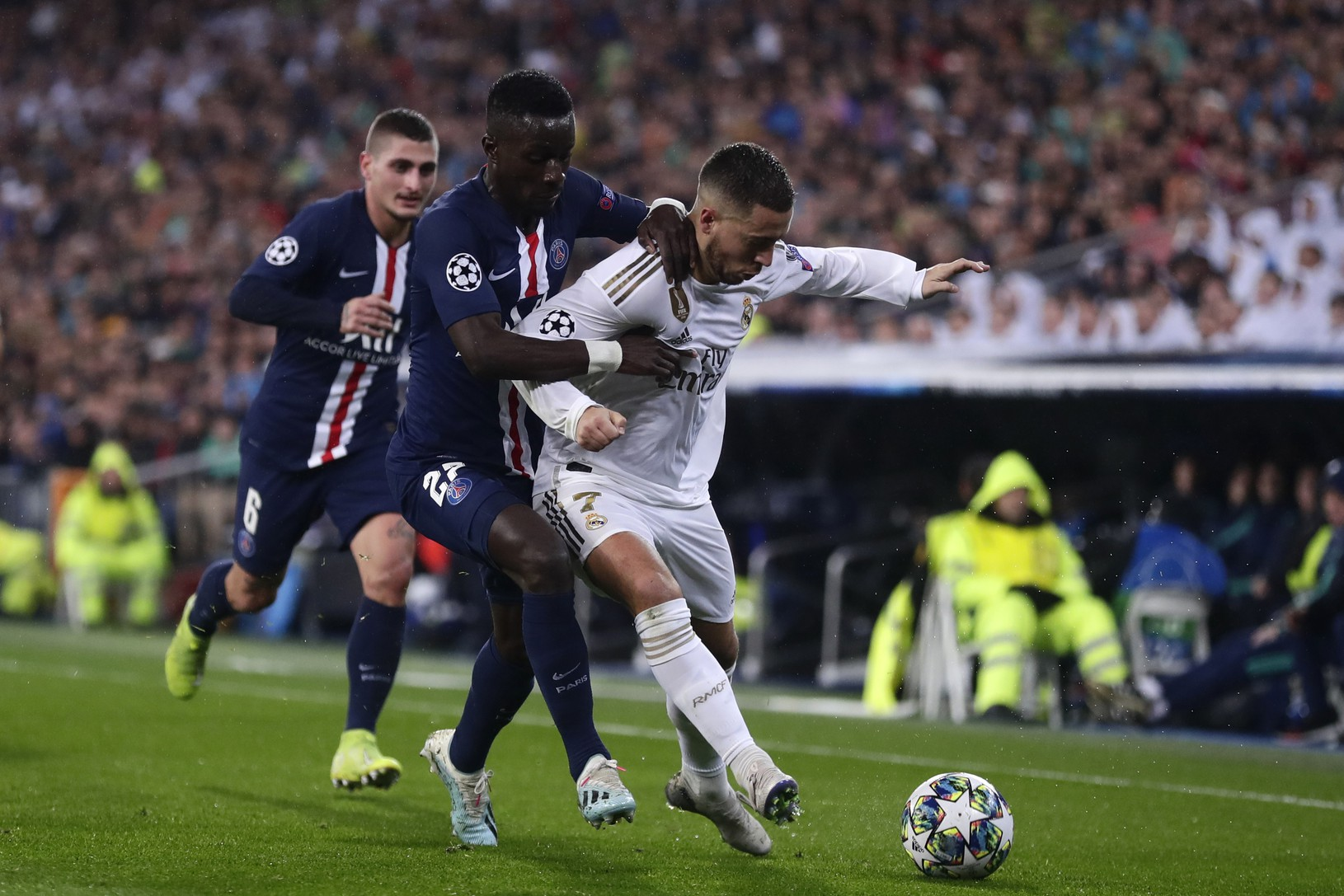 Eden Hazard a Idrissa