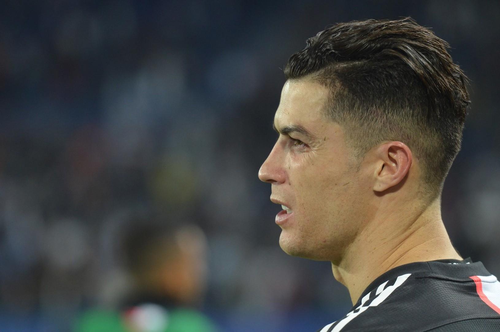 Frustrovaný Cristiano Ronaldo