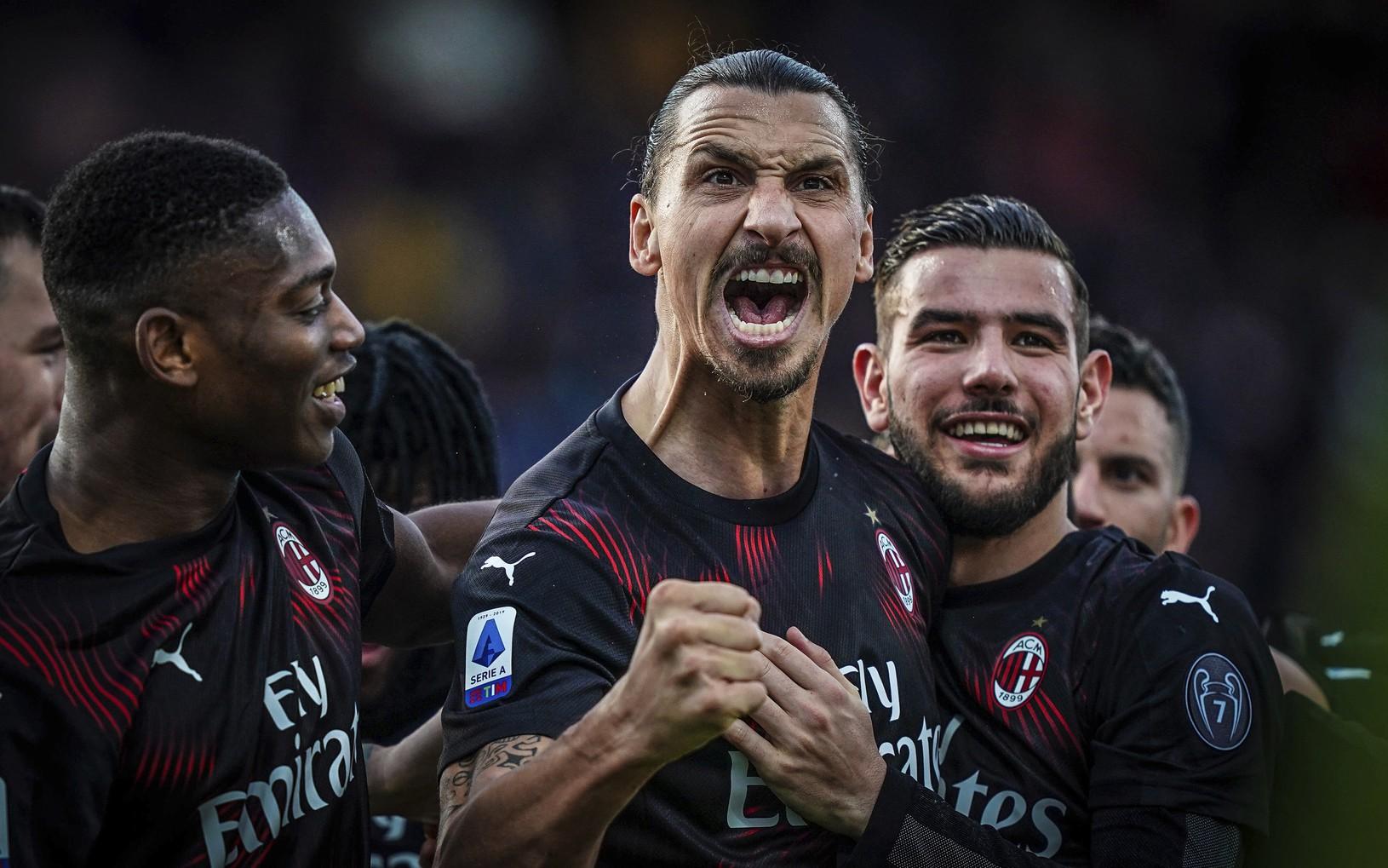 Zlatan Ibrahimovič sa teší