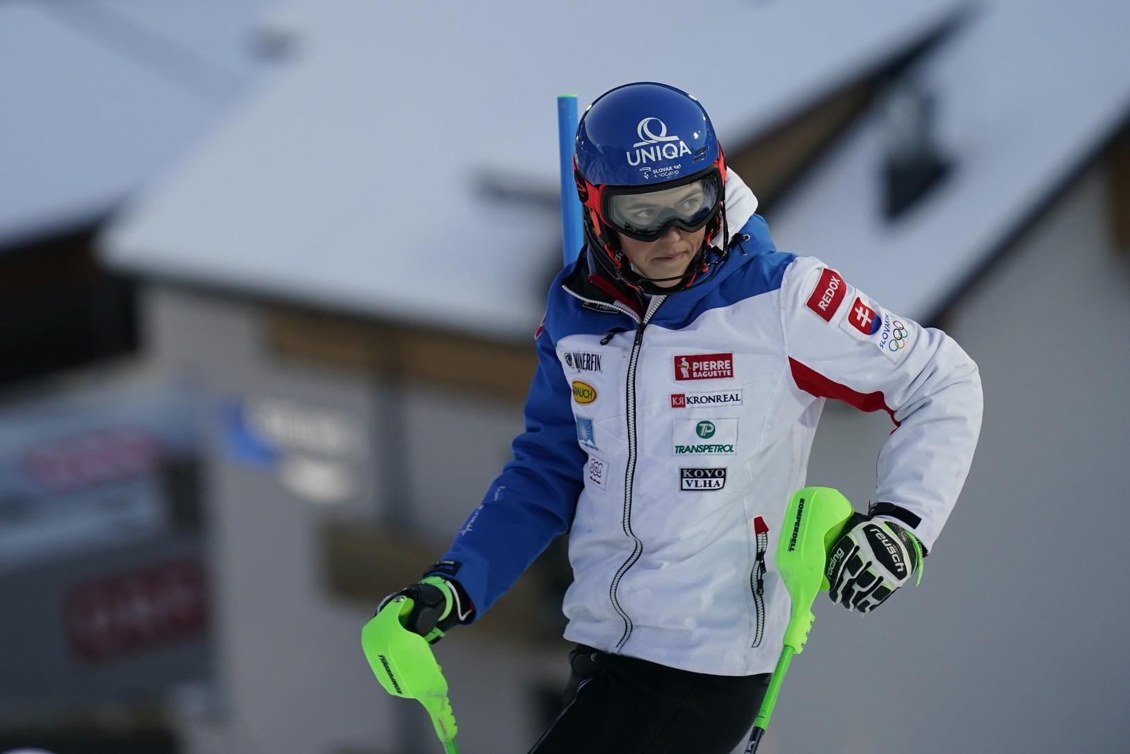 Petra Vlhová pred slalomom