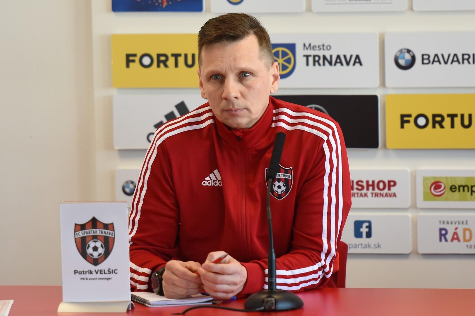 PR manažér Spartaka Patrik