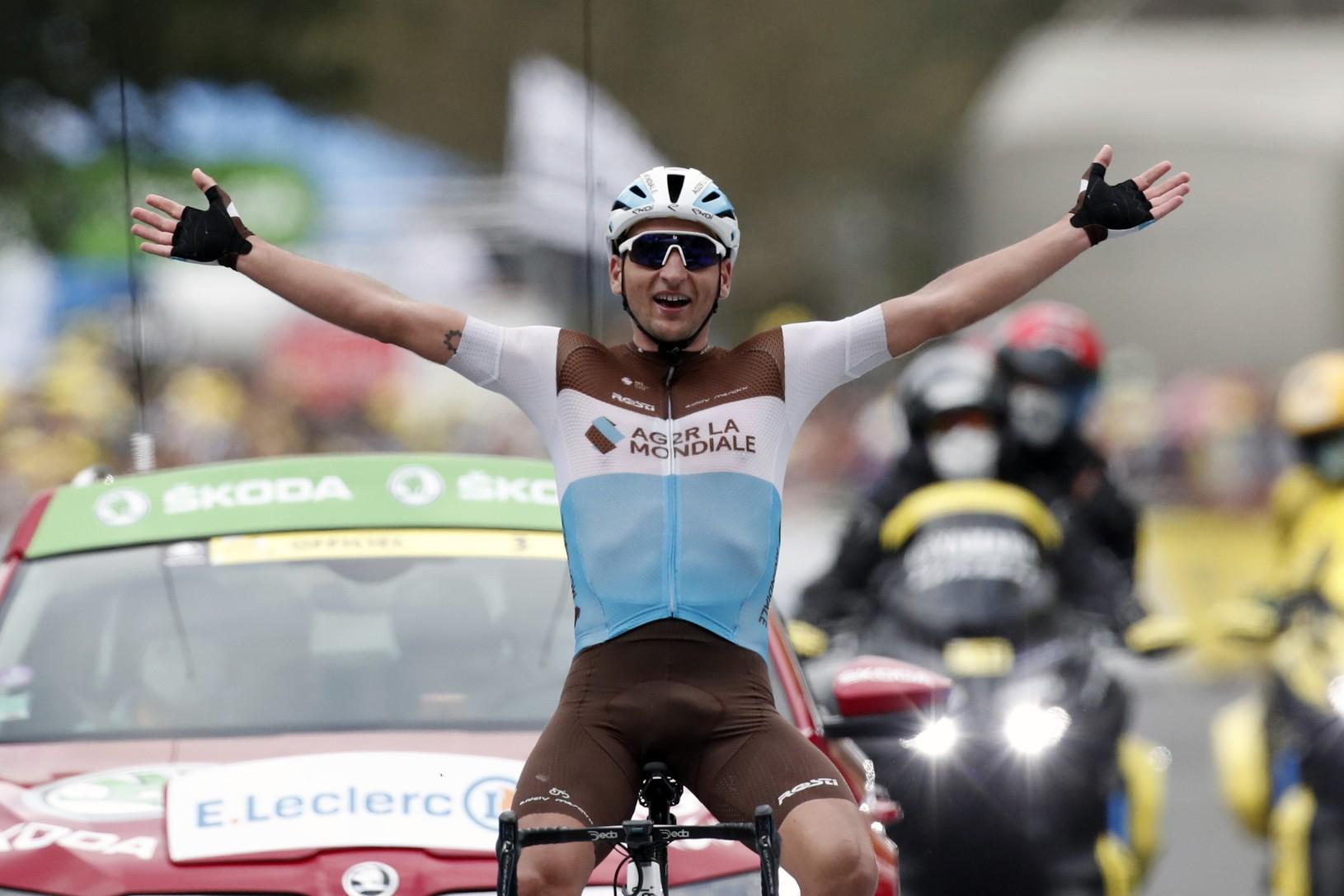 Francúzsky cyklista Nans Peters