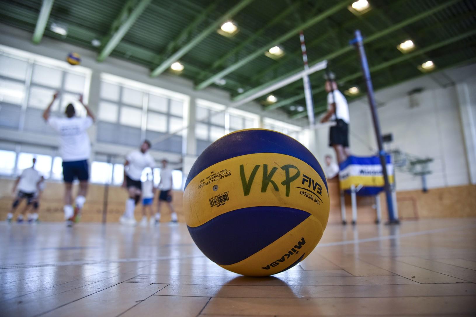 Snímka z tréningu volejbalového