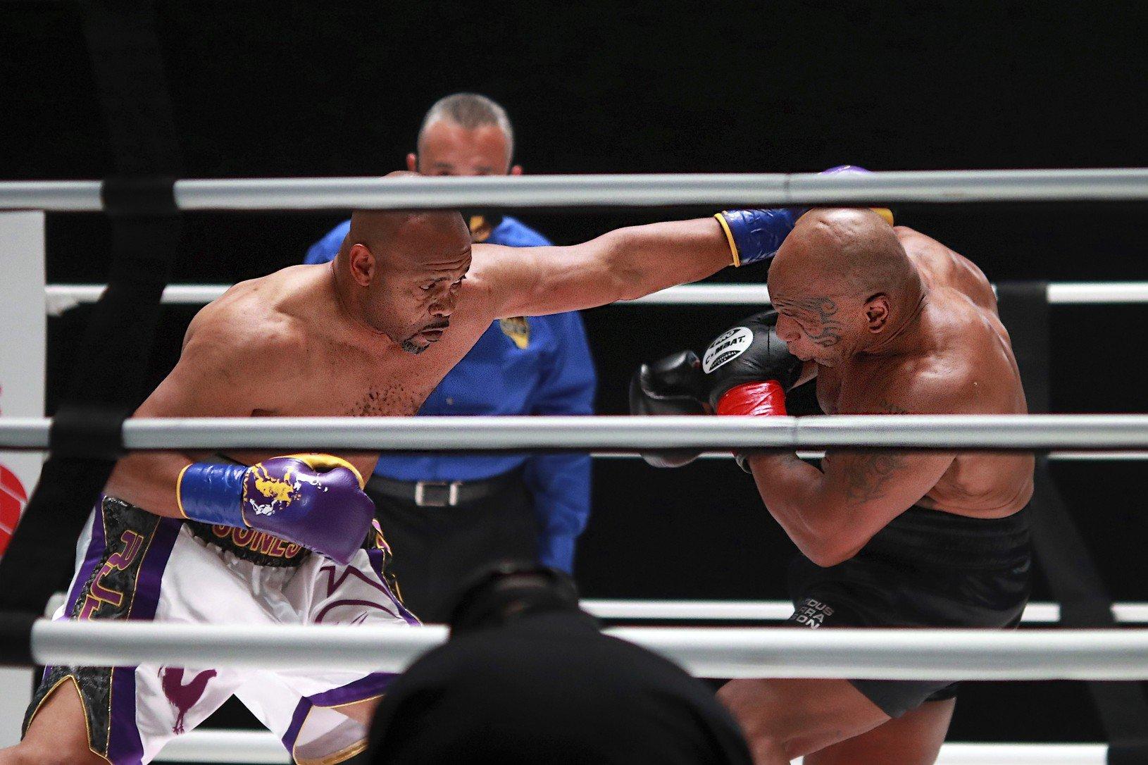 Tyson pri návrate do