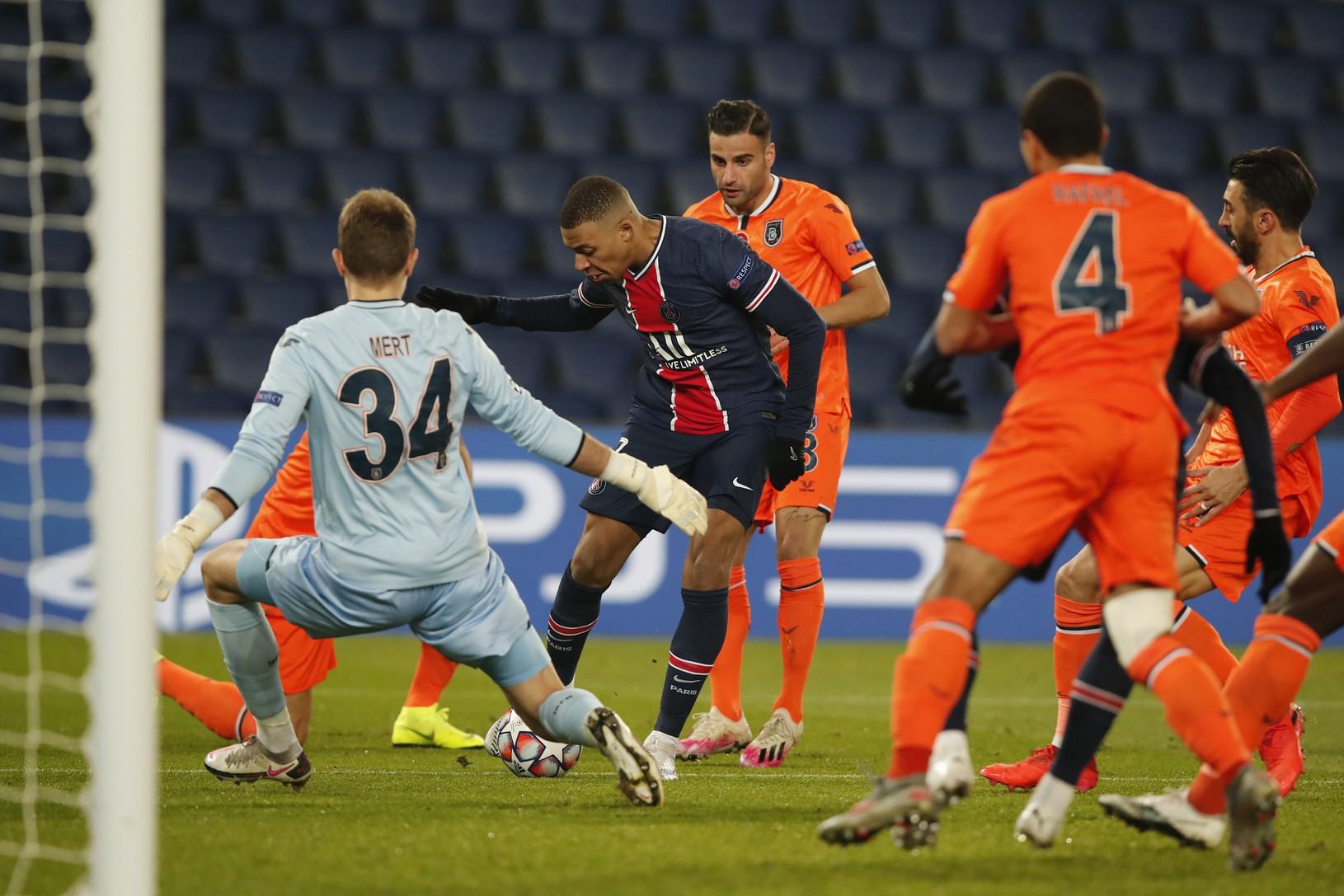 Momentka zo zápasu PSG