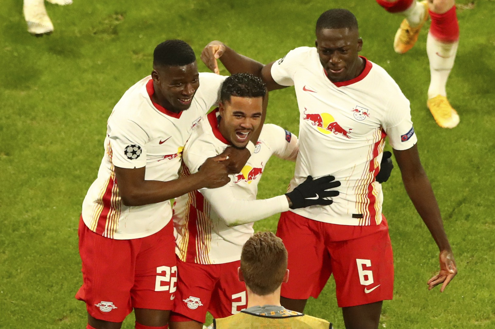 Radosť futbalistov Lipska