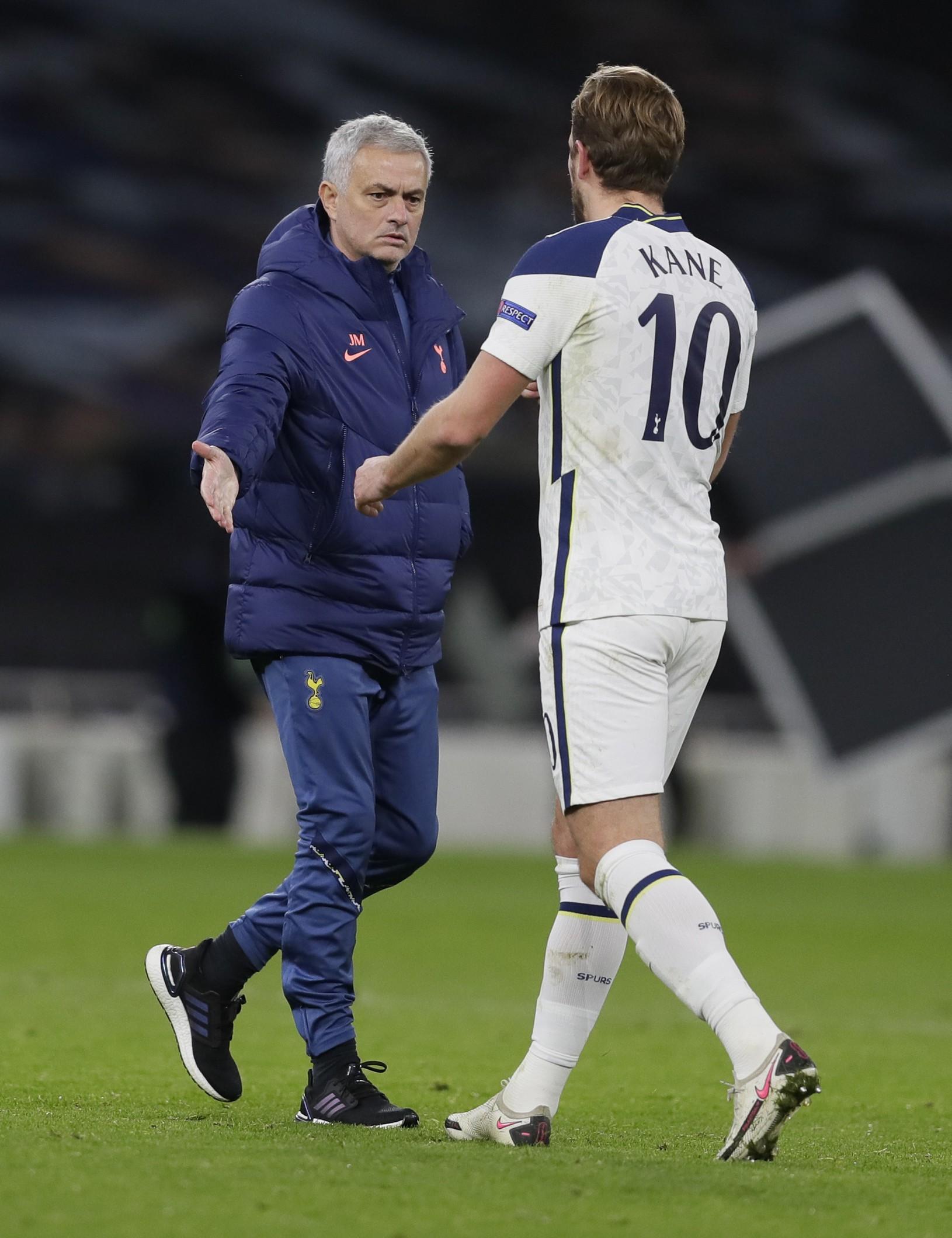 José Mourinho a Harry
