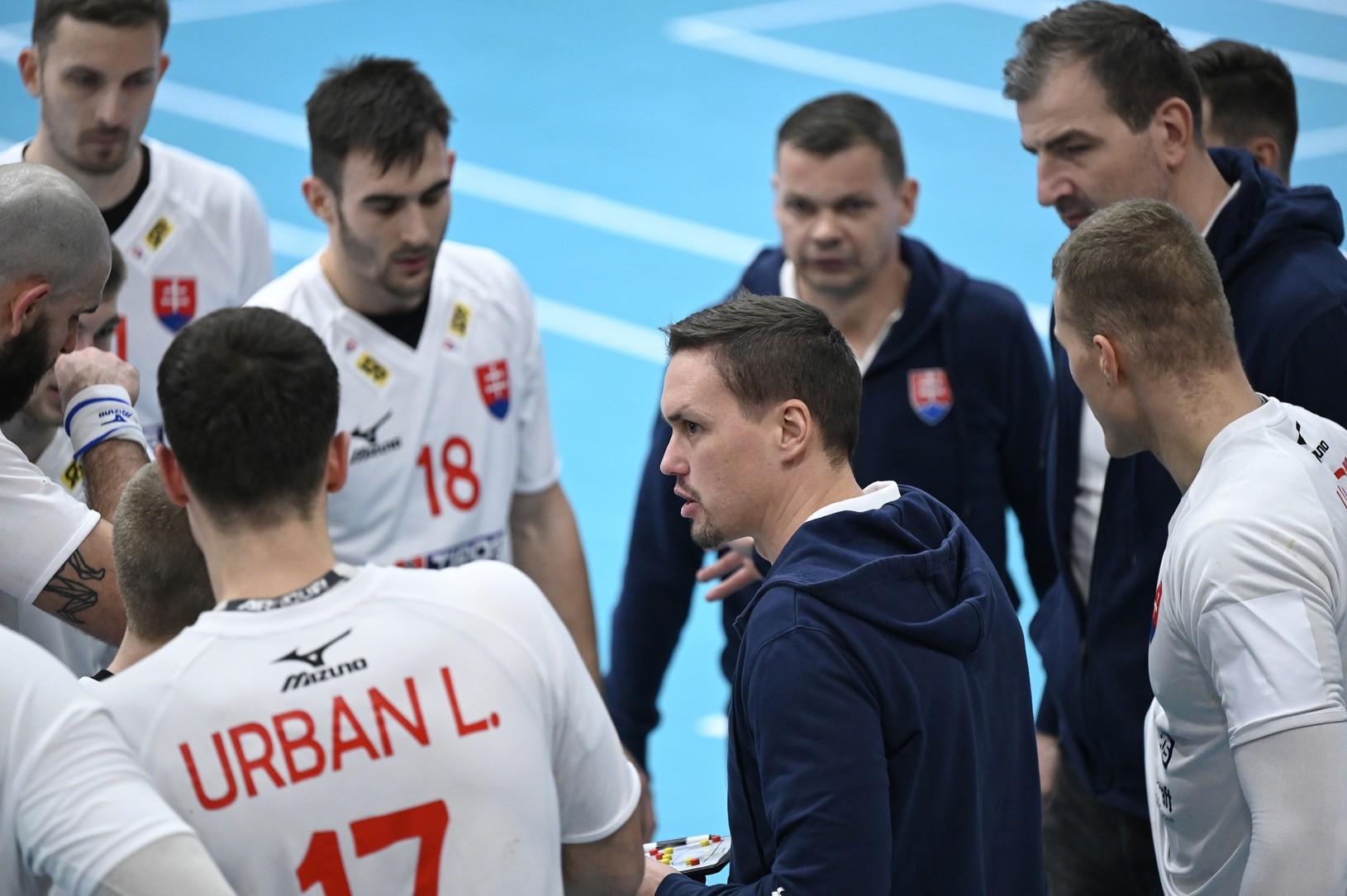 Reprezentačný tréner Slovenska Peter