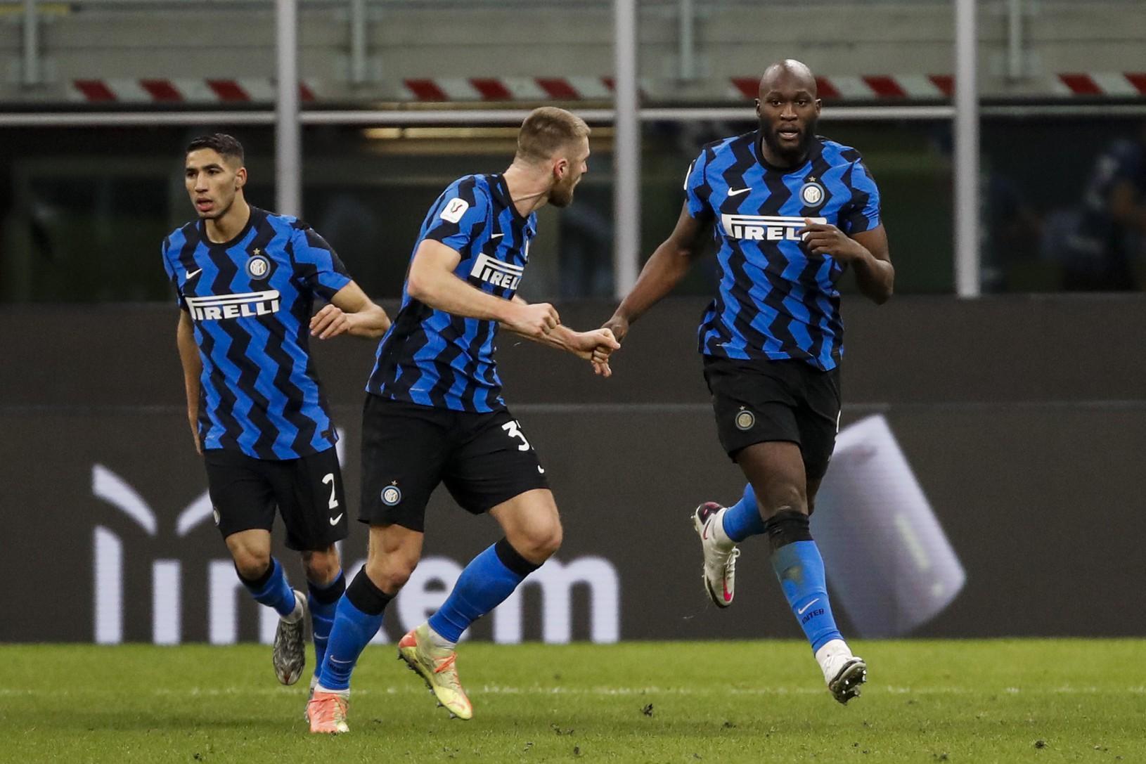 Romelu Lukaku a Milan