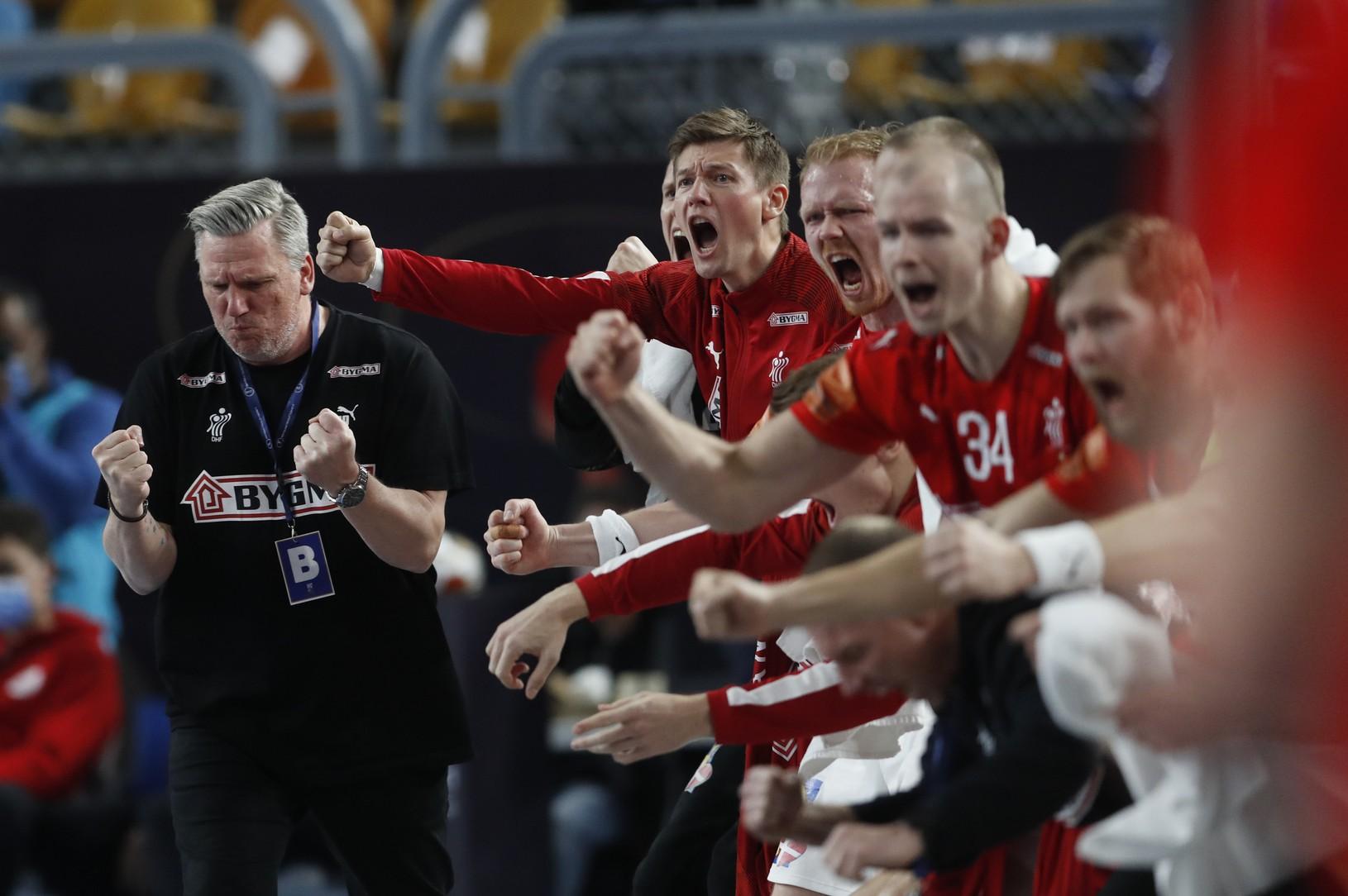 Hádzanári Dánska