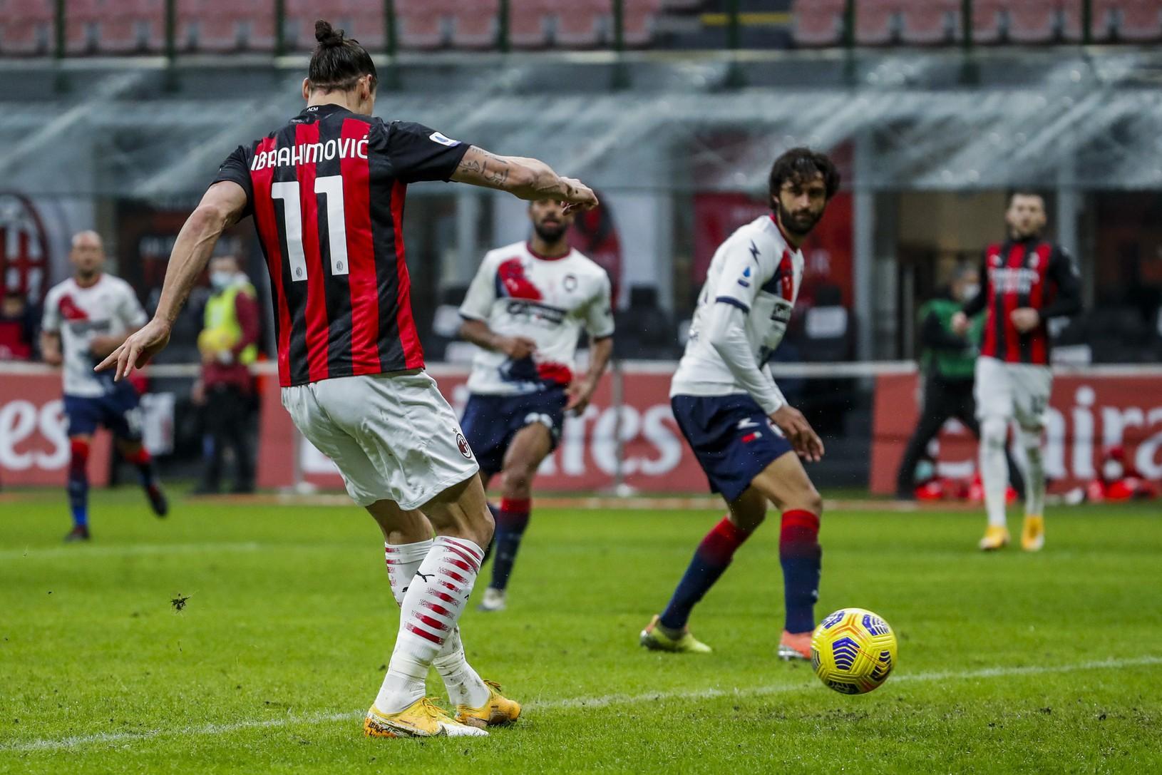 Zlatan Ibrahimovič v akcii
