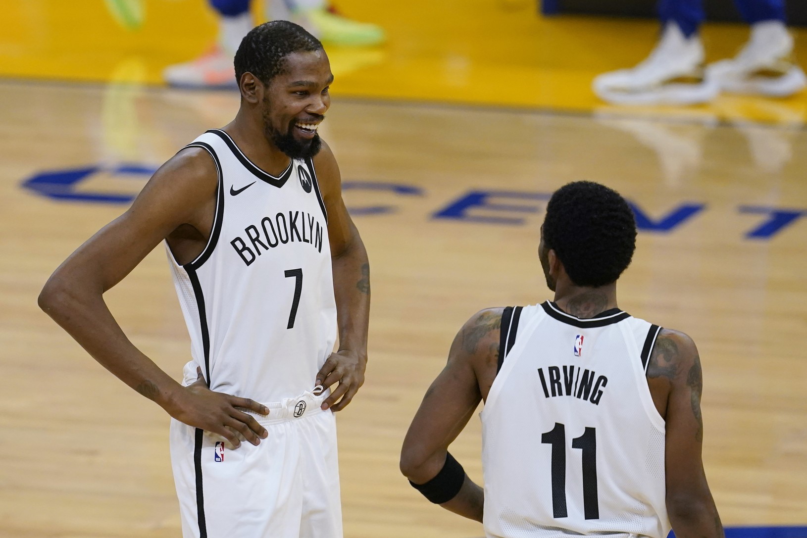 Kevin Durant a Kyrie