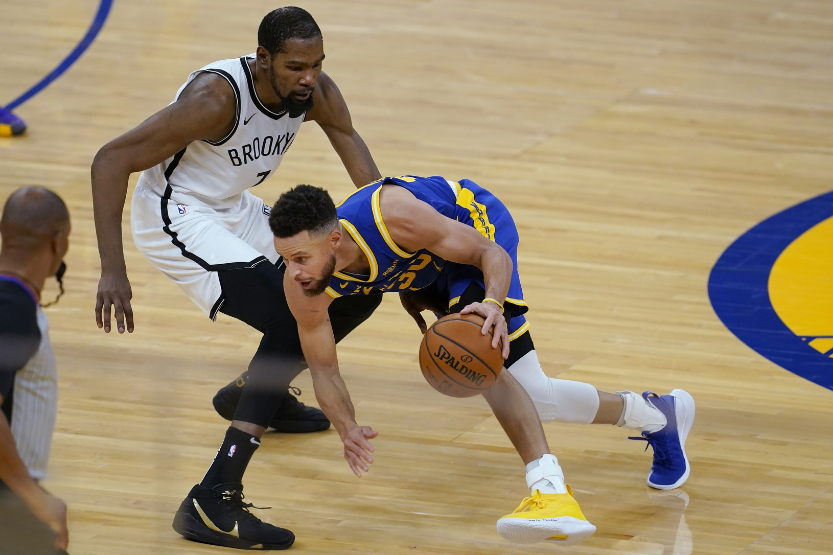 Stephen Curry a Kevin