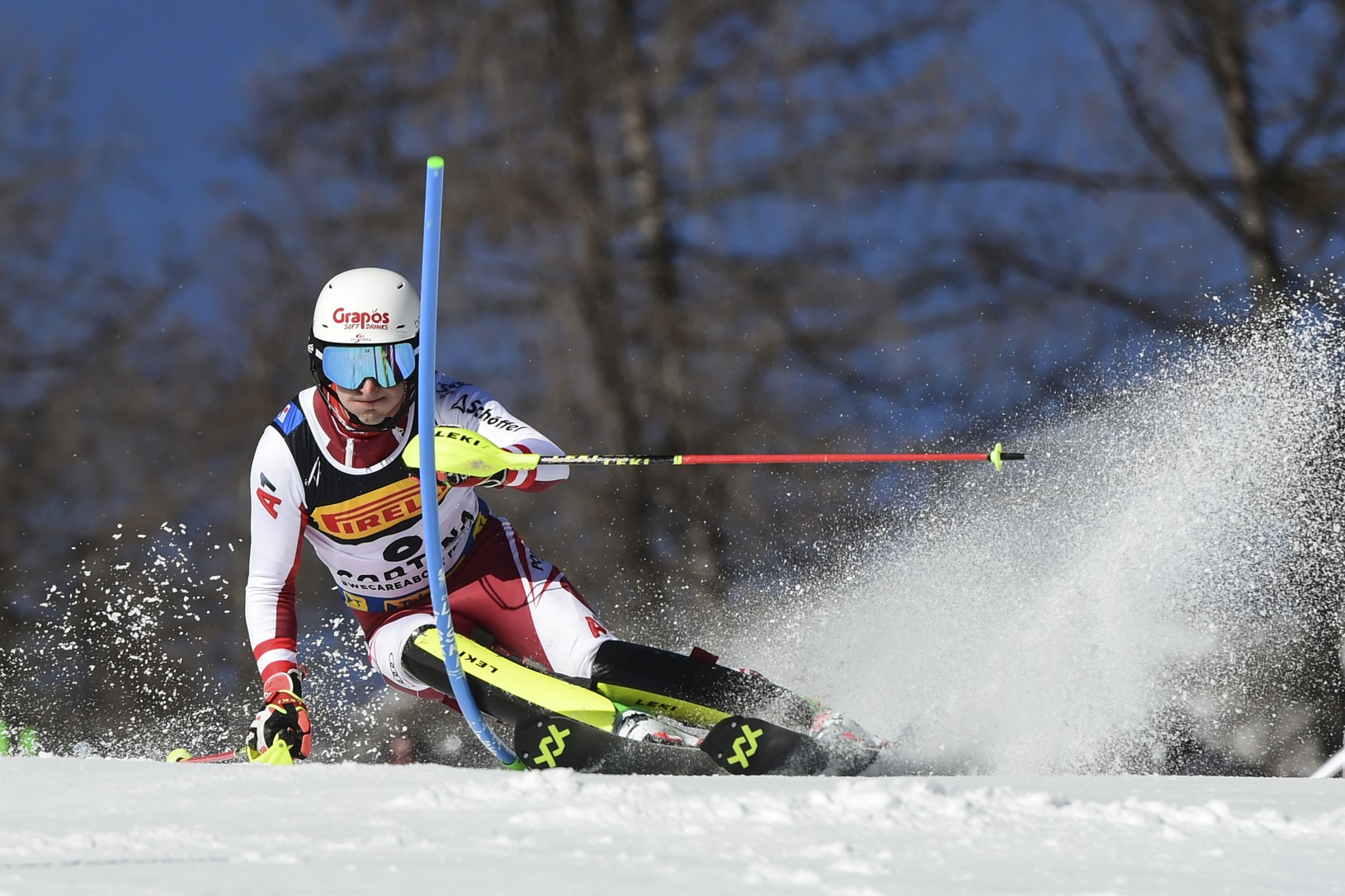 Rakúsky lyžiar Adrian Pertl