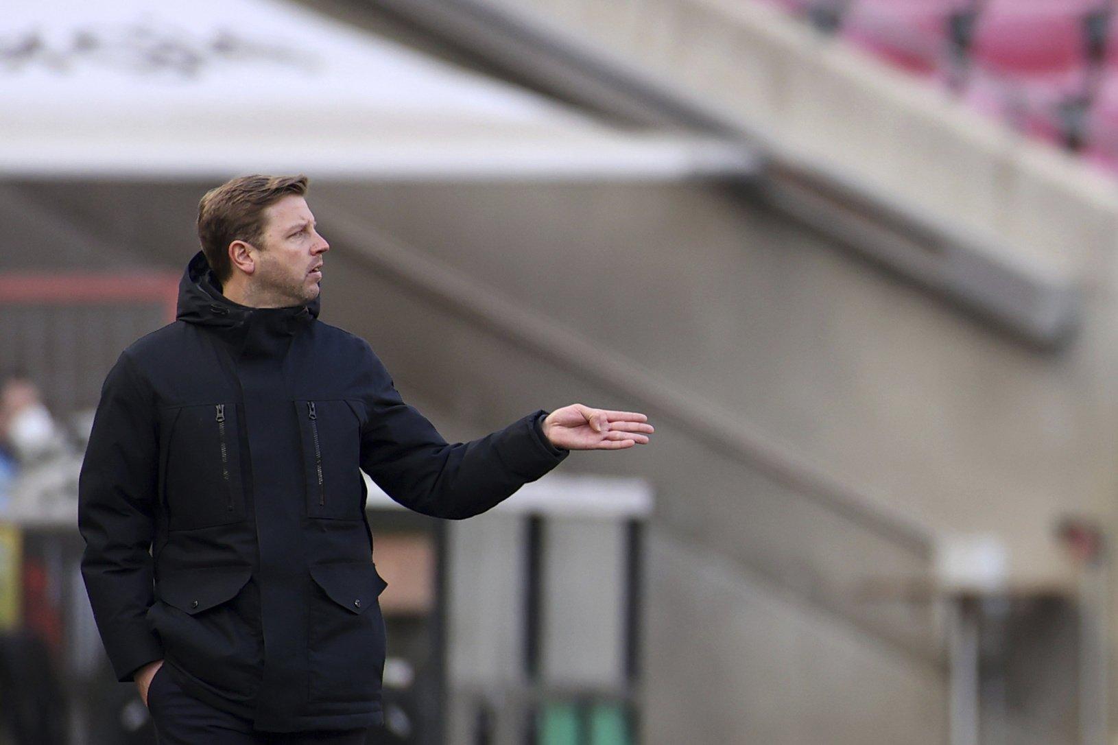 Tréner Werderu Brémy Florian