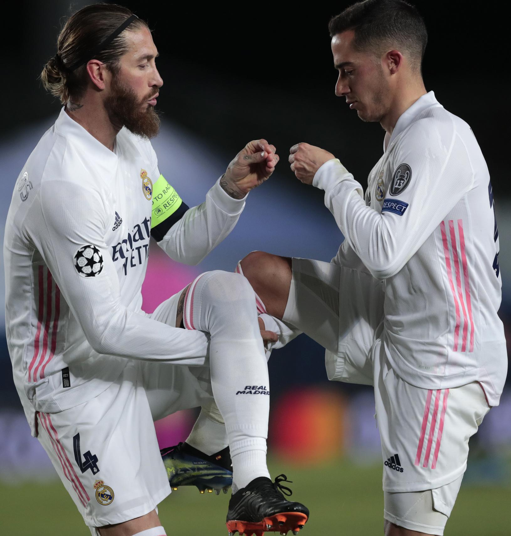 Sergio Ramos a Lucas