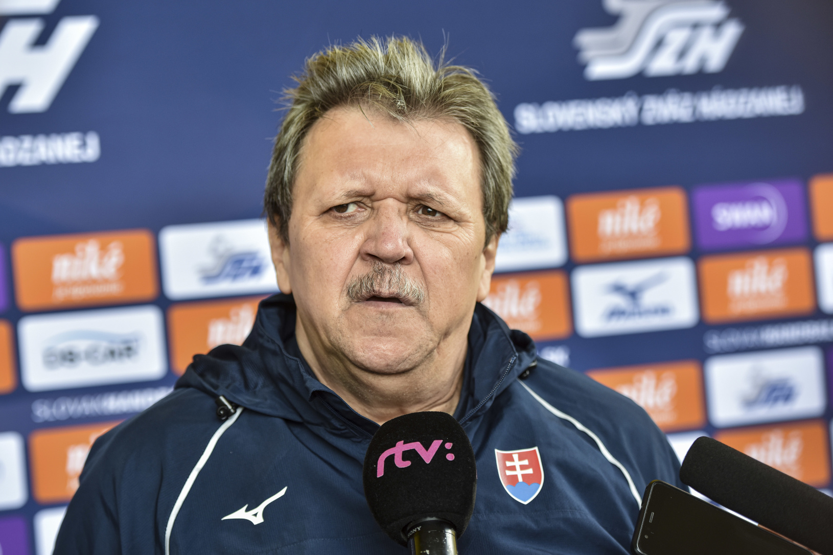 Tréner Pavol Streicher