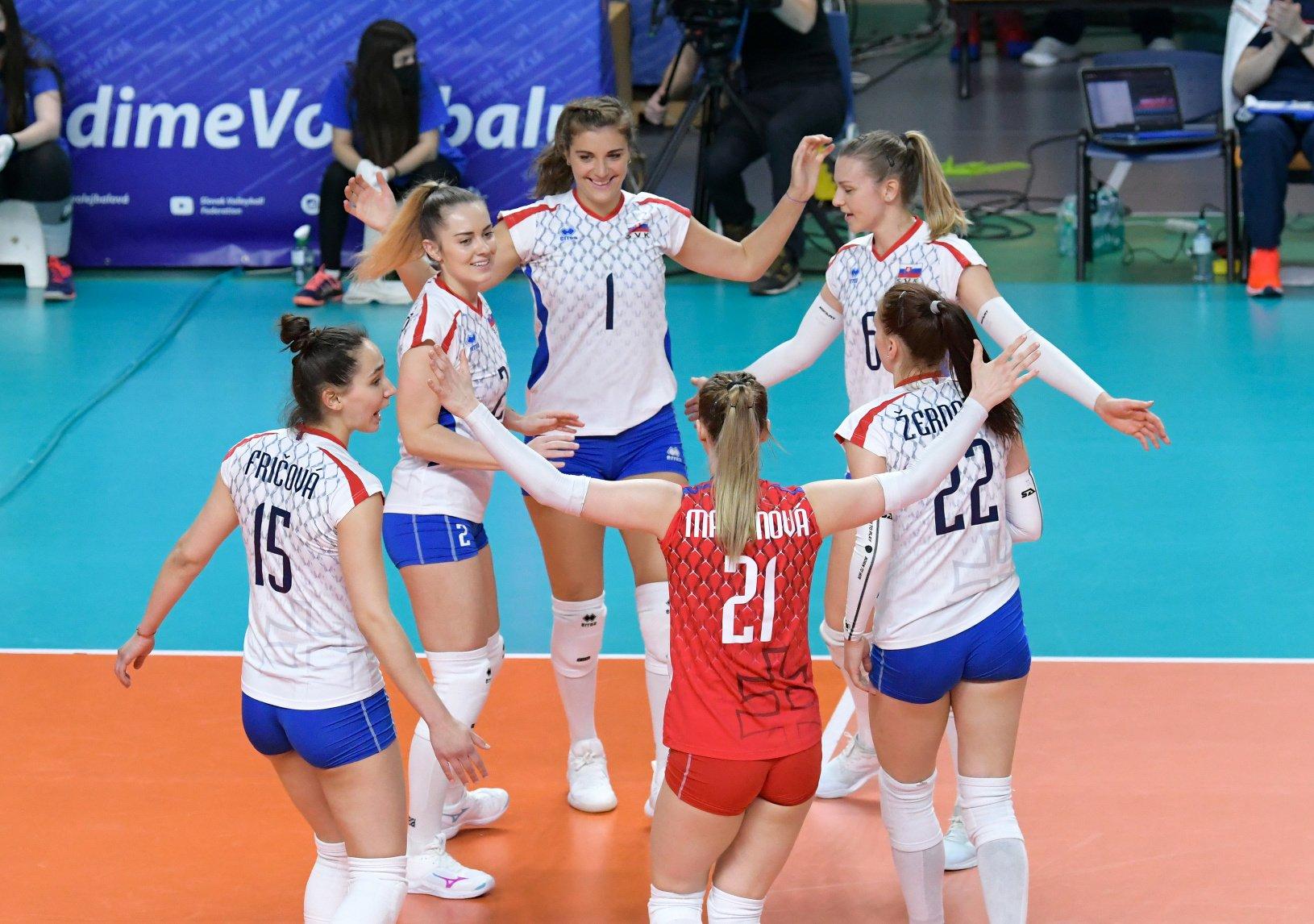 Oslavy slovenských volejbalistiek