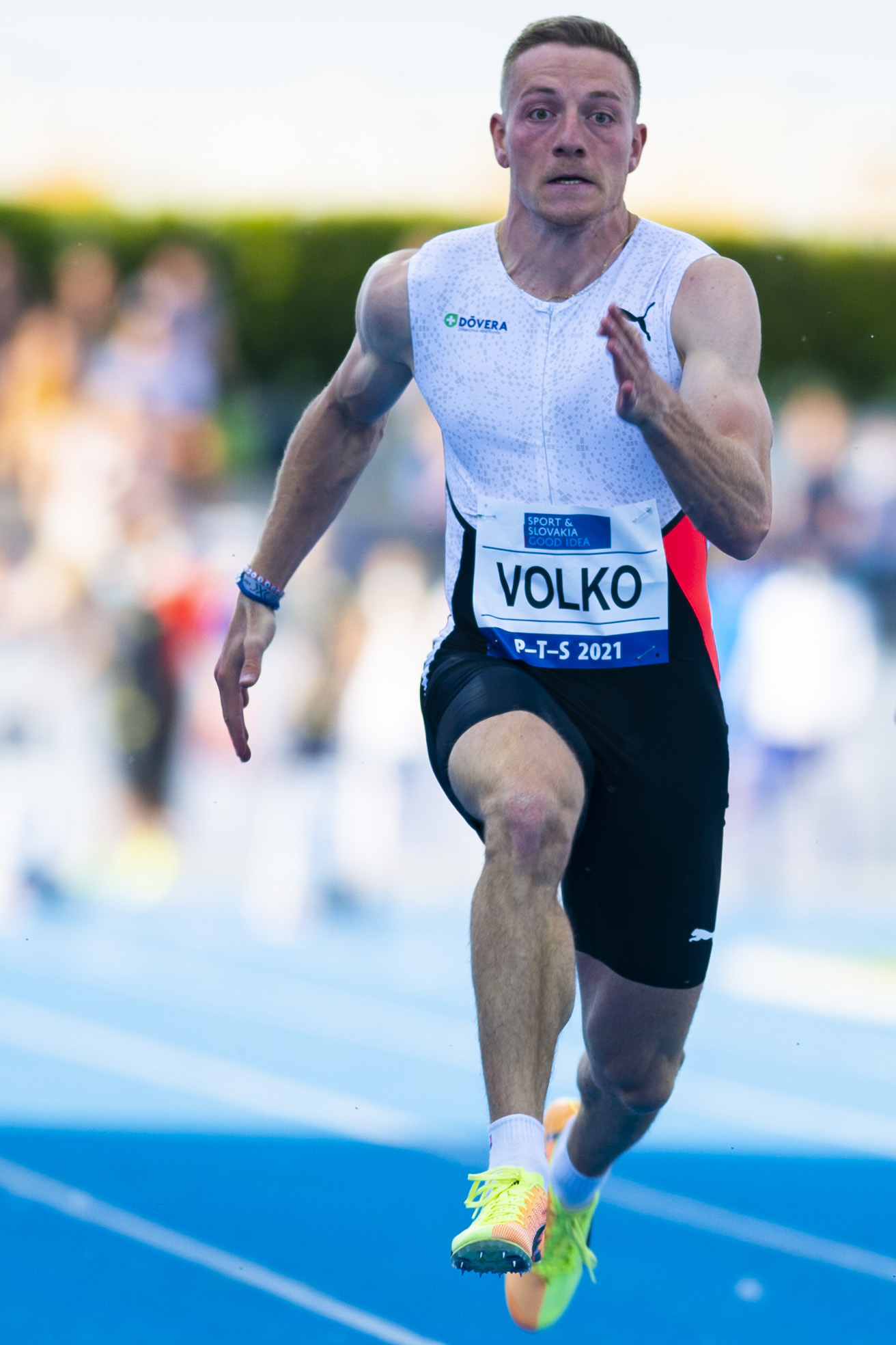 Slovenský šprintér Ján Volko