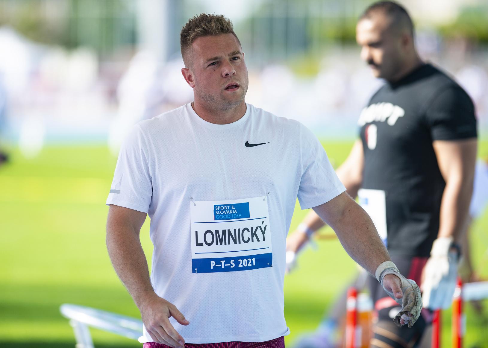 Slovenský kladivár Marcel Lomnický