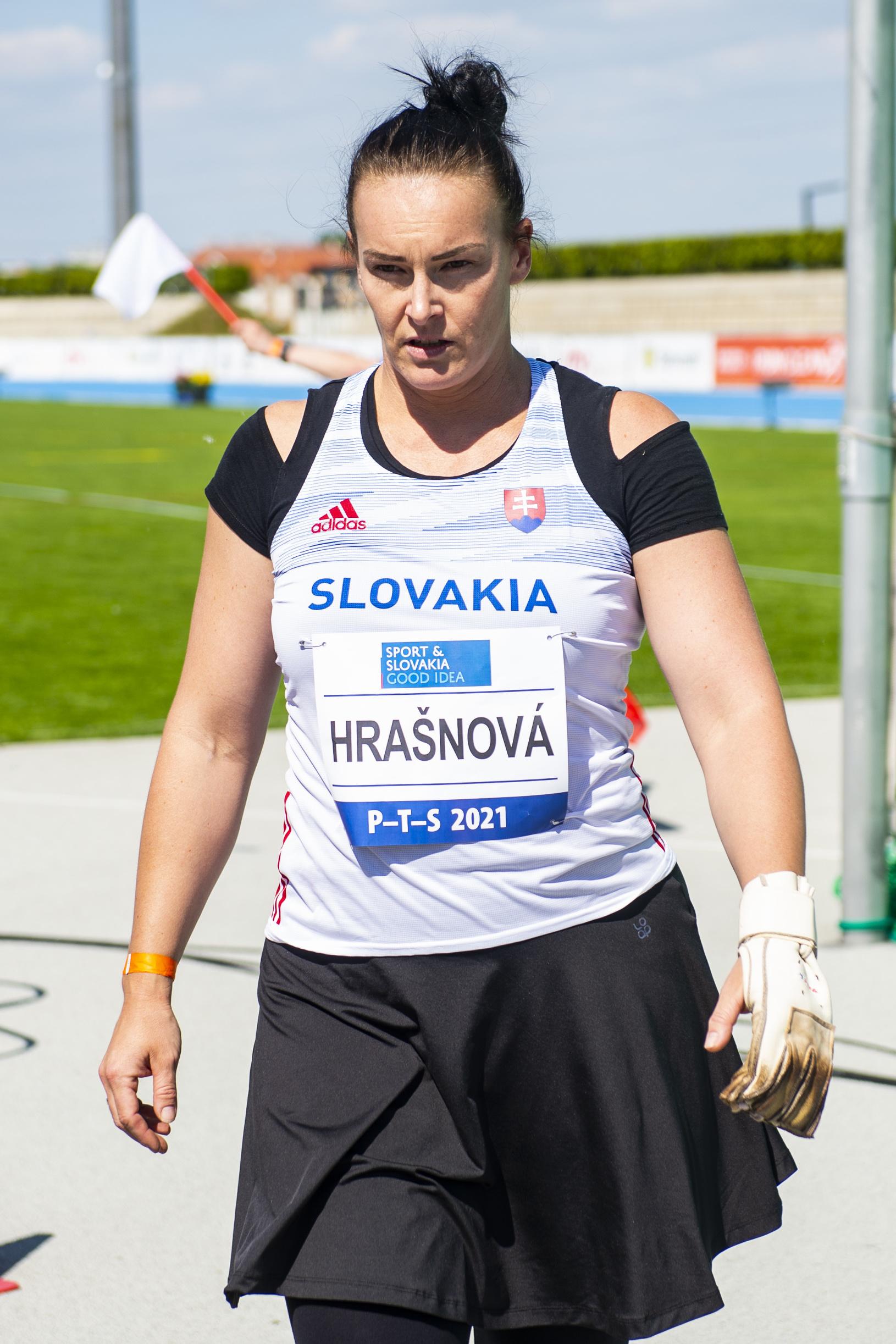 Slovenská kladivárka Martina Hrašnová