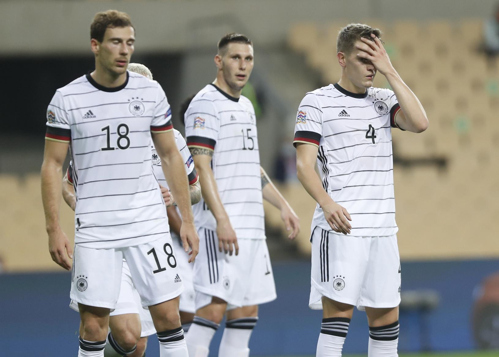 Nemeckí futbaloví reprezentanti zľava