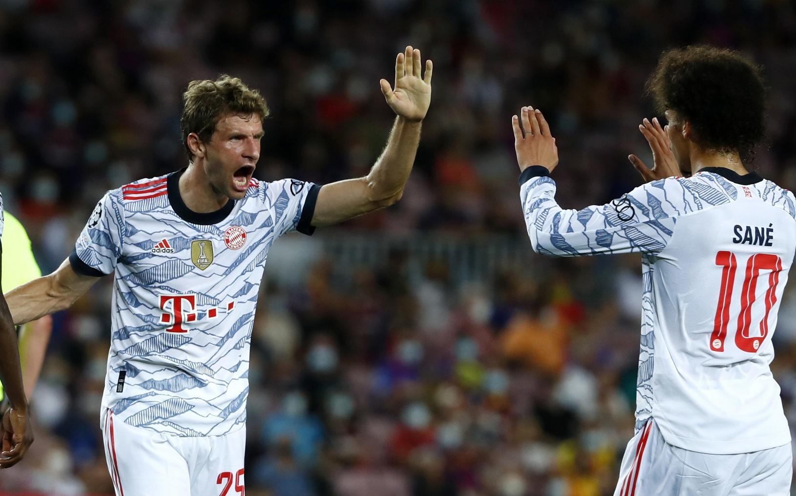 Futbalista Bayernu Thomas Müller
