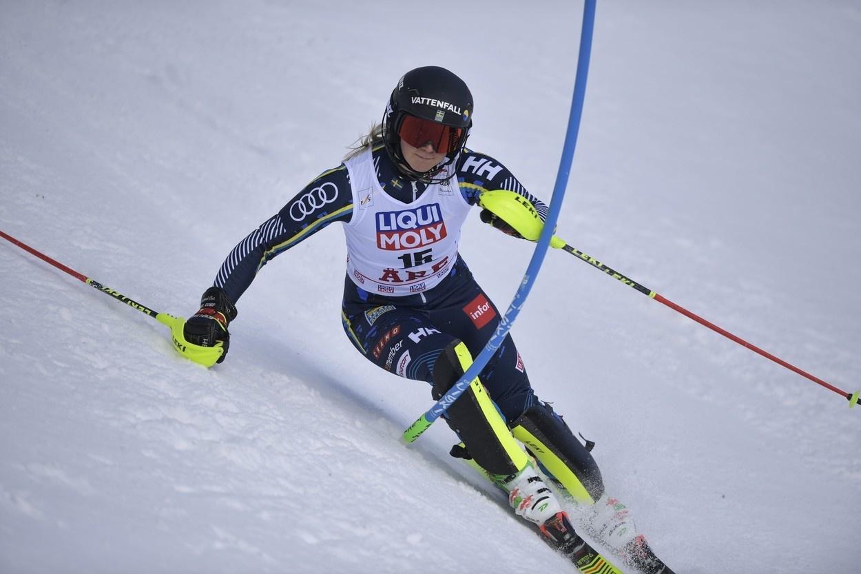 Švédska lyžiarka Emelie Wikströmová